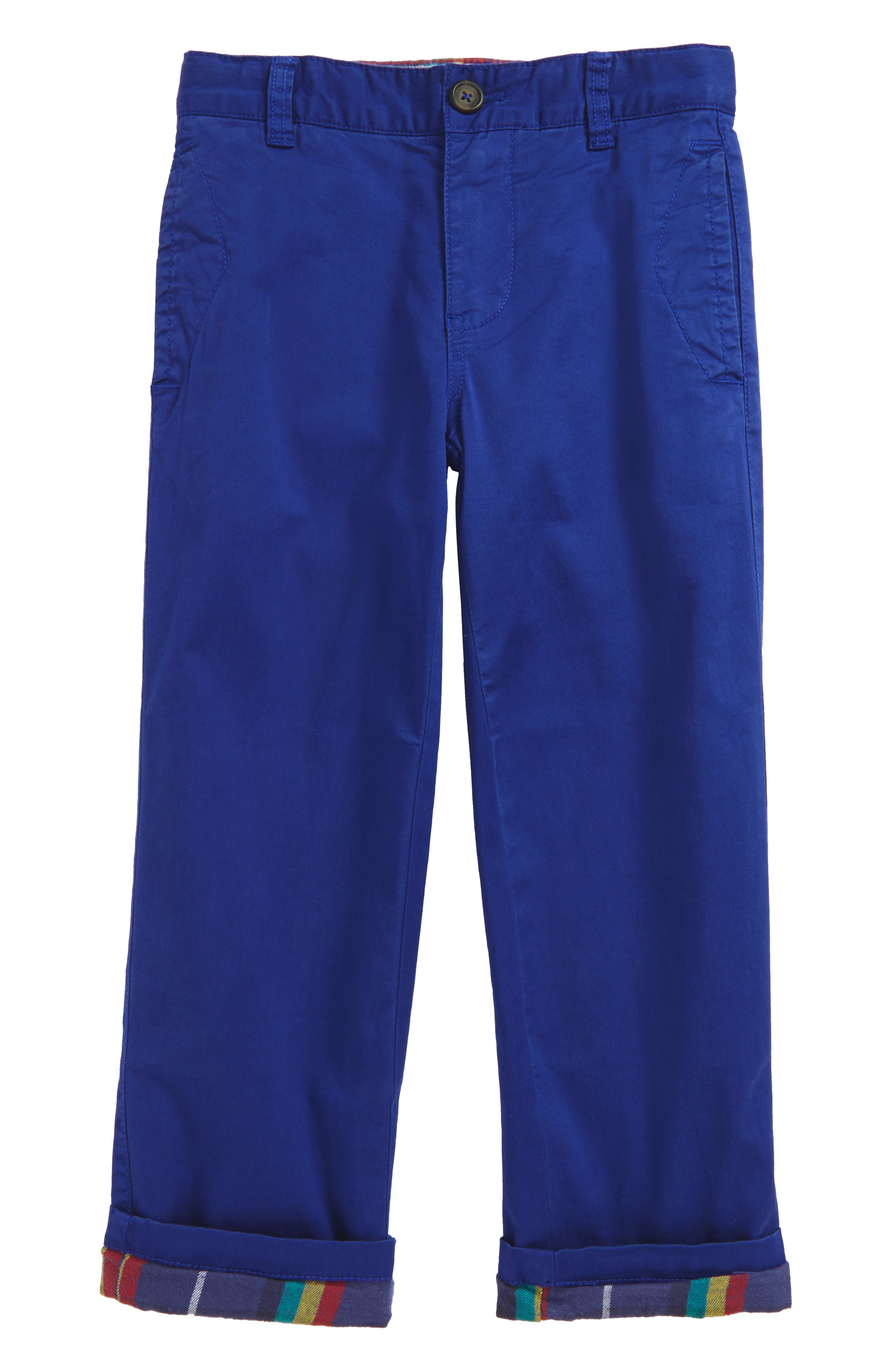 Mini Boden Lined Chino Pants (Toddler Boys, Little Boys & Big Boys)