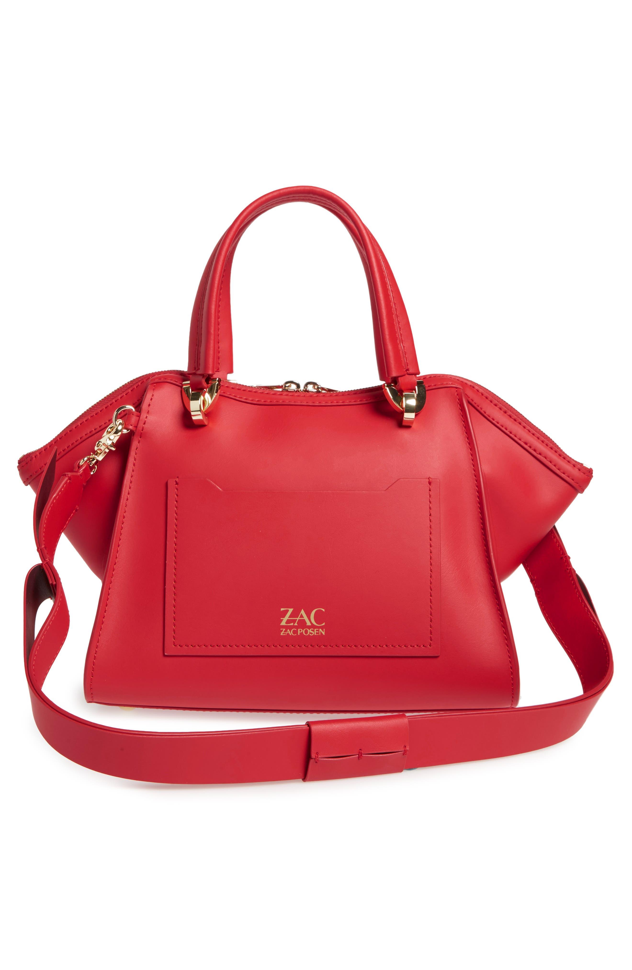 Alternate Image 2  - ZAC Zac Posen Eartha Iconic Calfskin Leather Double Handle Satchel