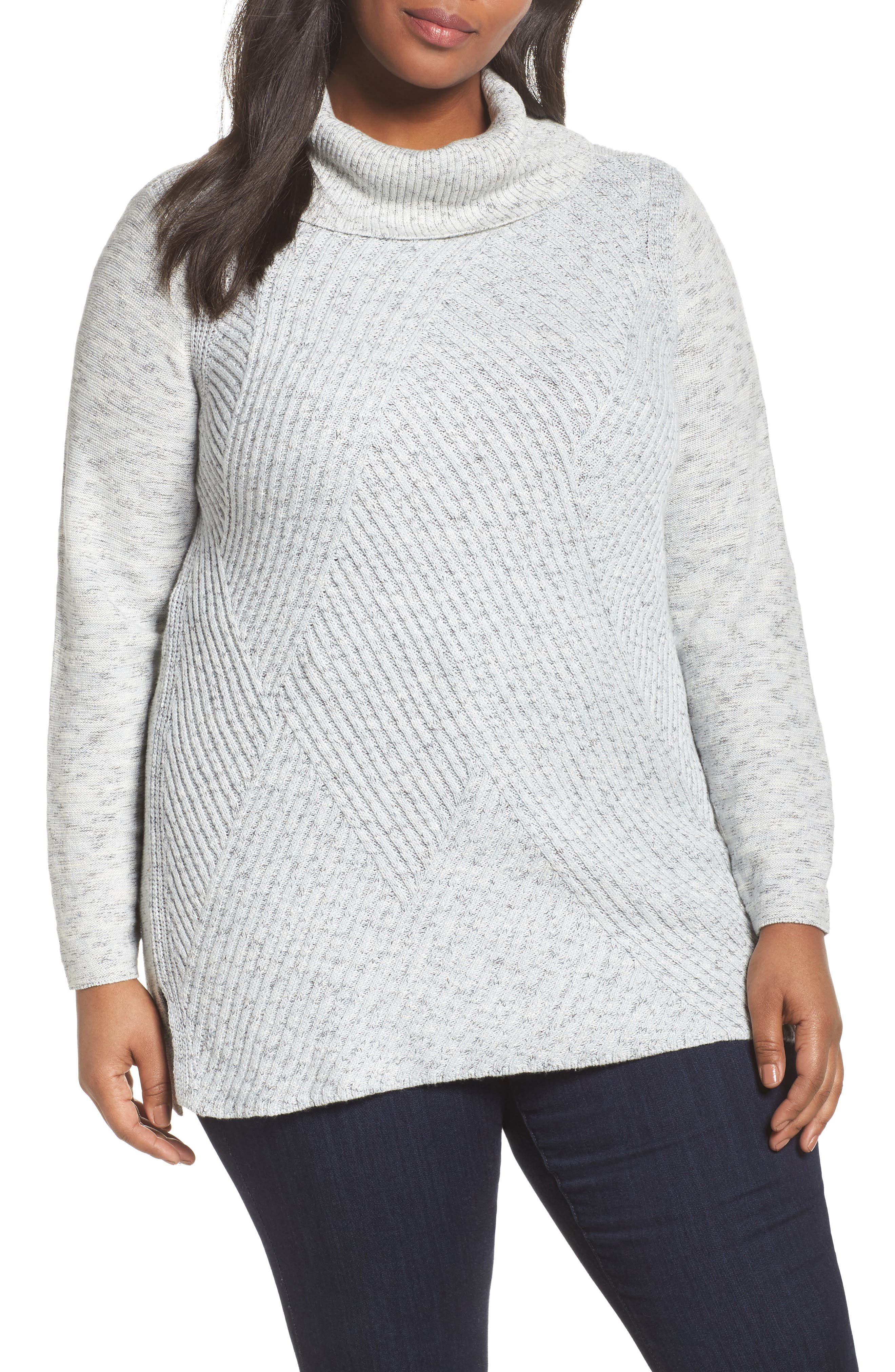 NIC+ZOE North Star Turtleneck Tunic (Plus Size)