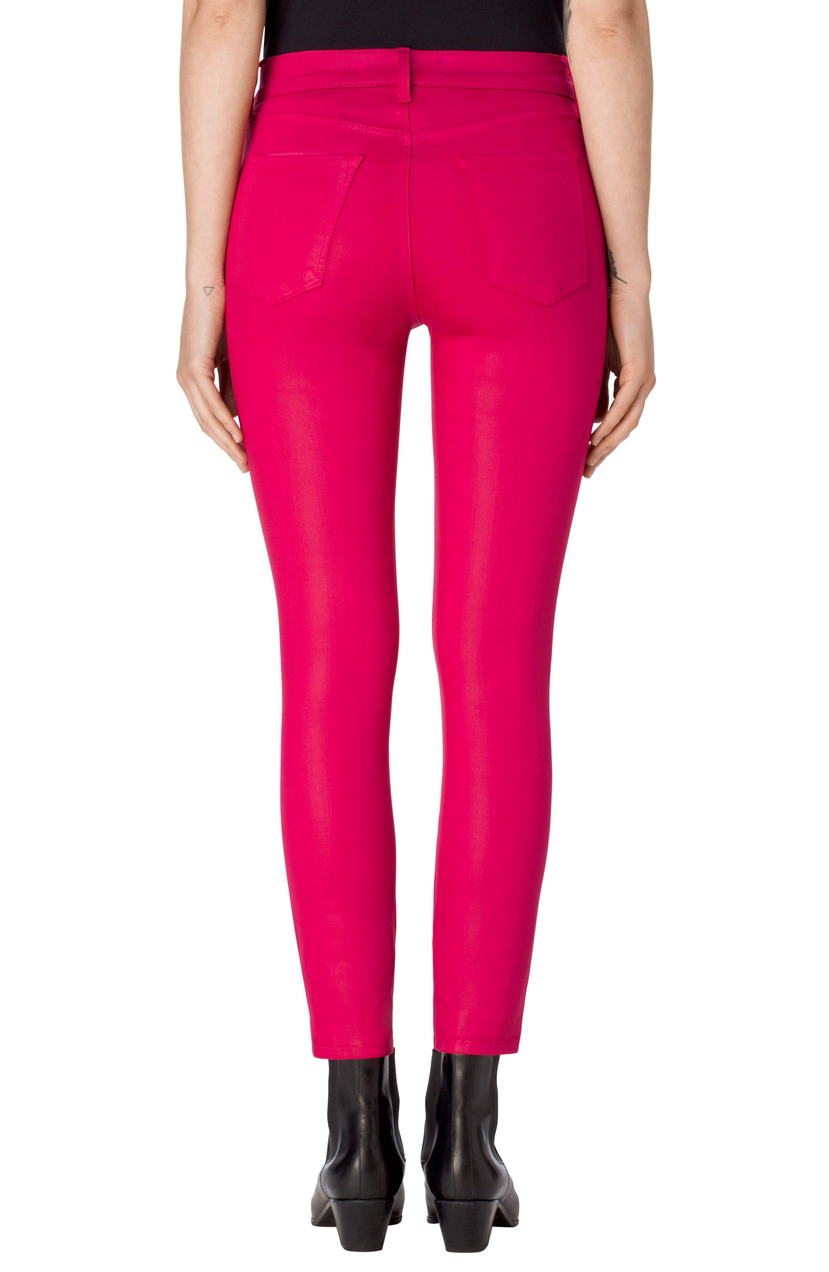 Alternate Image 2  - J Brand Alana High Waist Crop Skinny Jeans