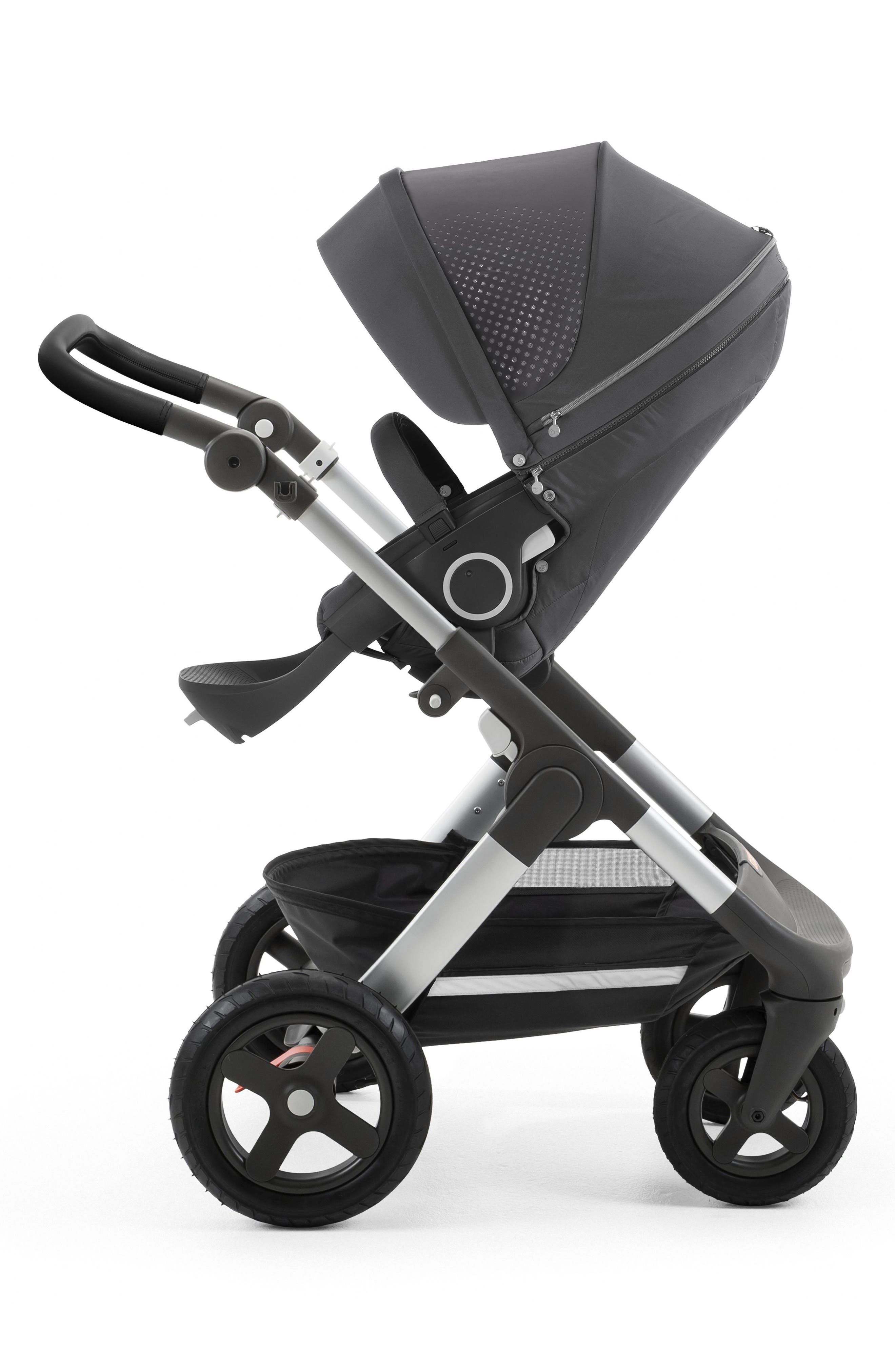 Trailz Terrain - Athleisure Limited Edition Stroller,                             Main thumbnail 1, color,                             Grey