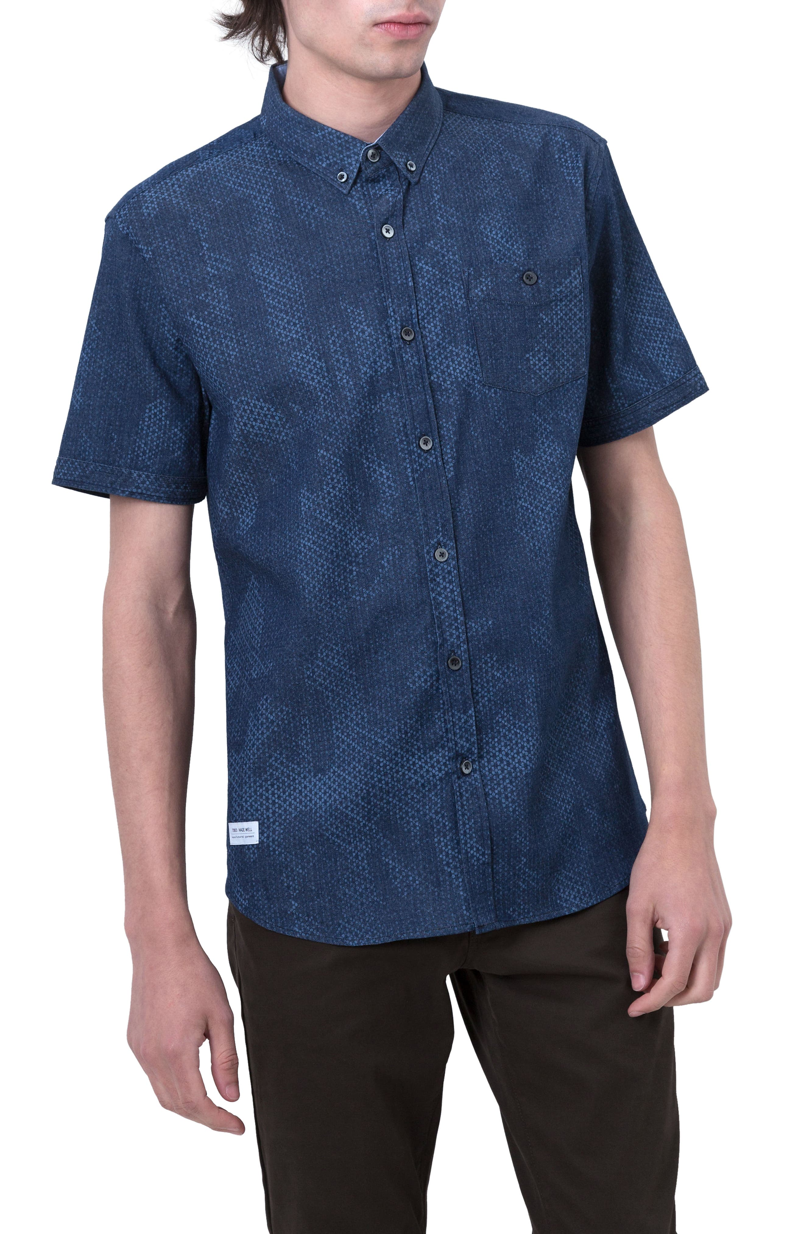 The Kids Woven Shirt,                         Main,                         color, Mid