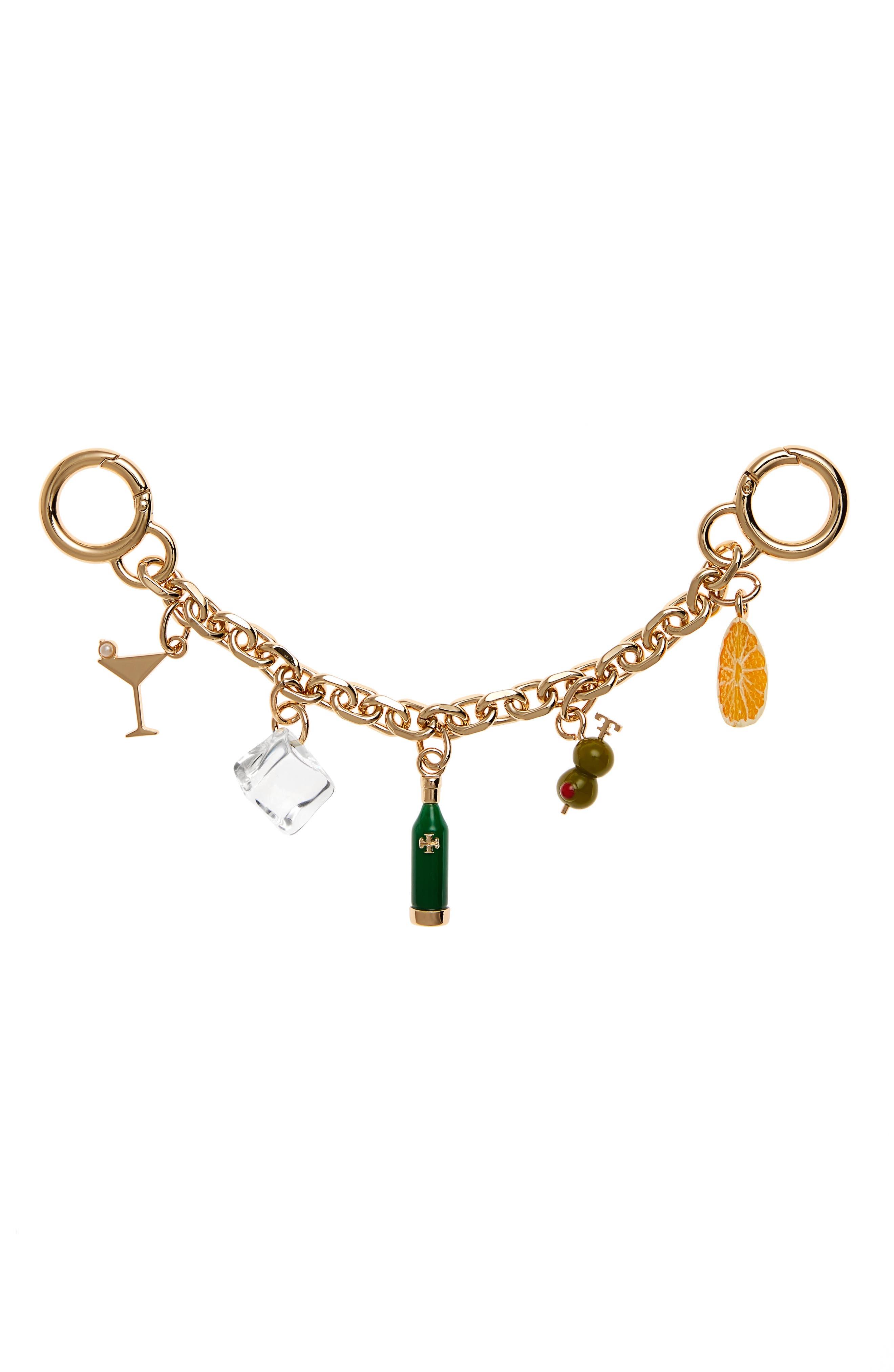 Tory Burch Martini Chain Bag Charm