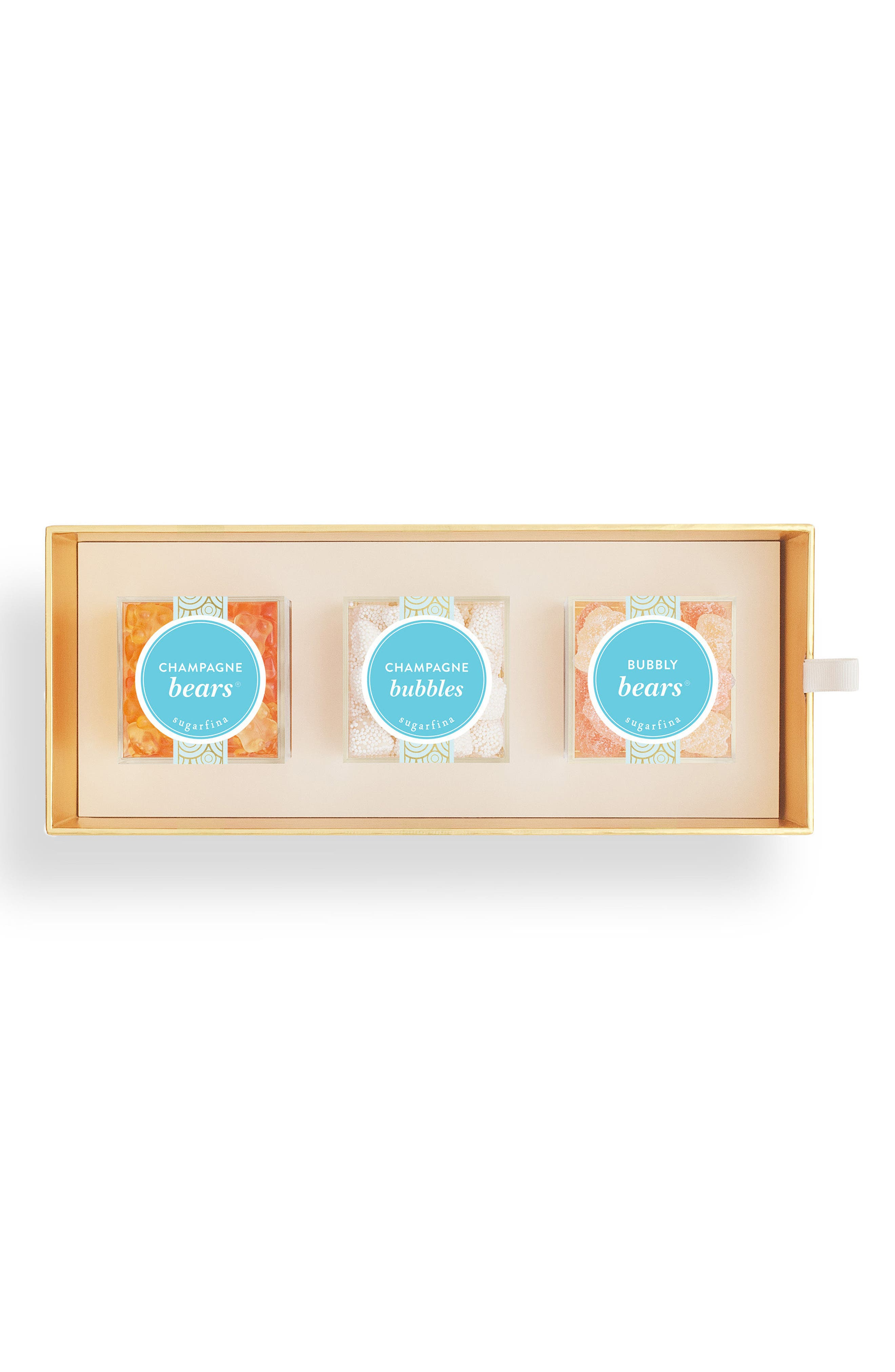 Cheers 3-Piece Candy Bento Box,                             Alternate thumbnail 2, color,                             White