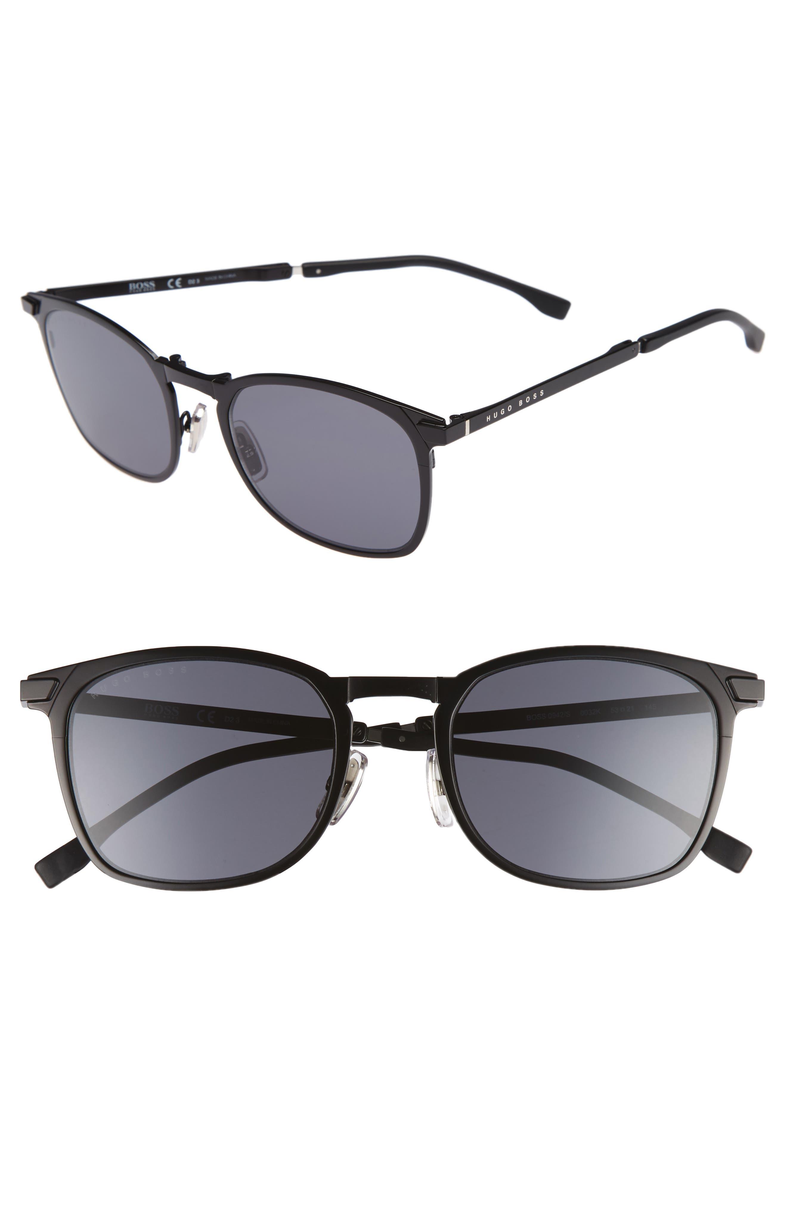 Main Image - BOSS 53mm Sunglasses