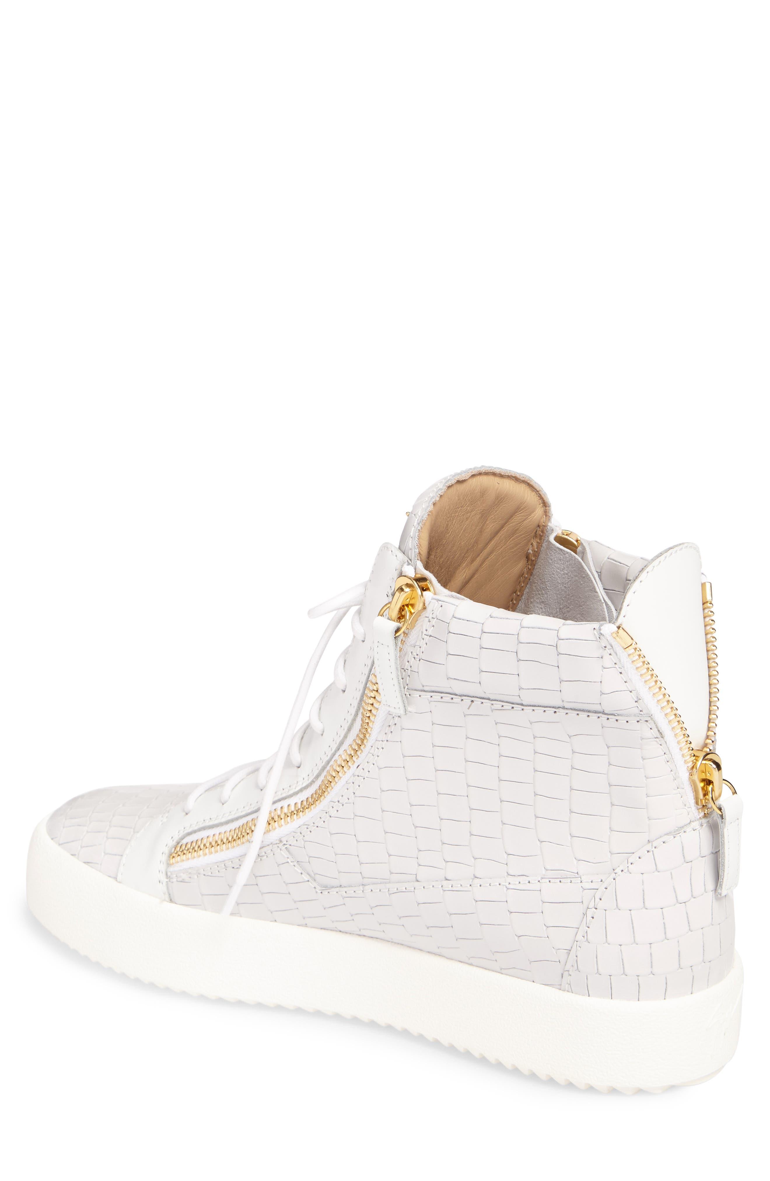 Alternate Image 2  - Giuseppe Zanotti High-Top Sneaker (Men)