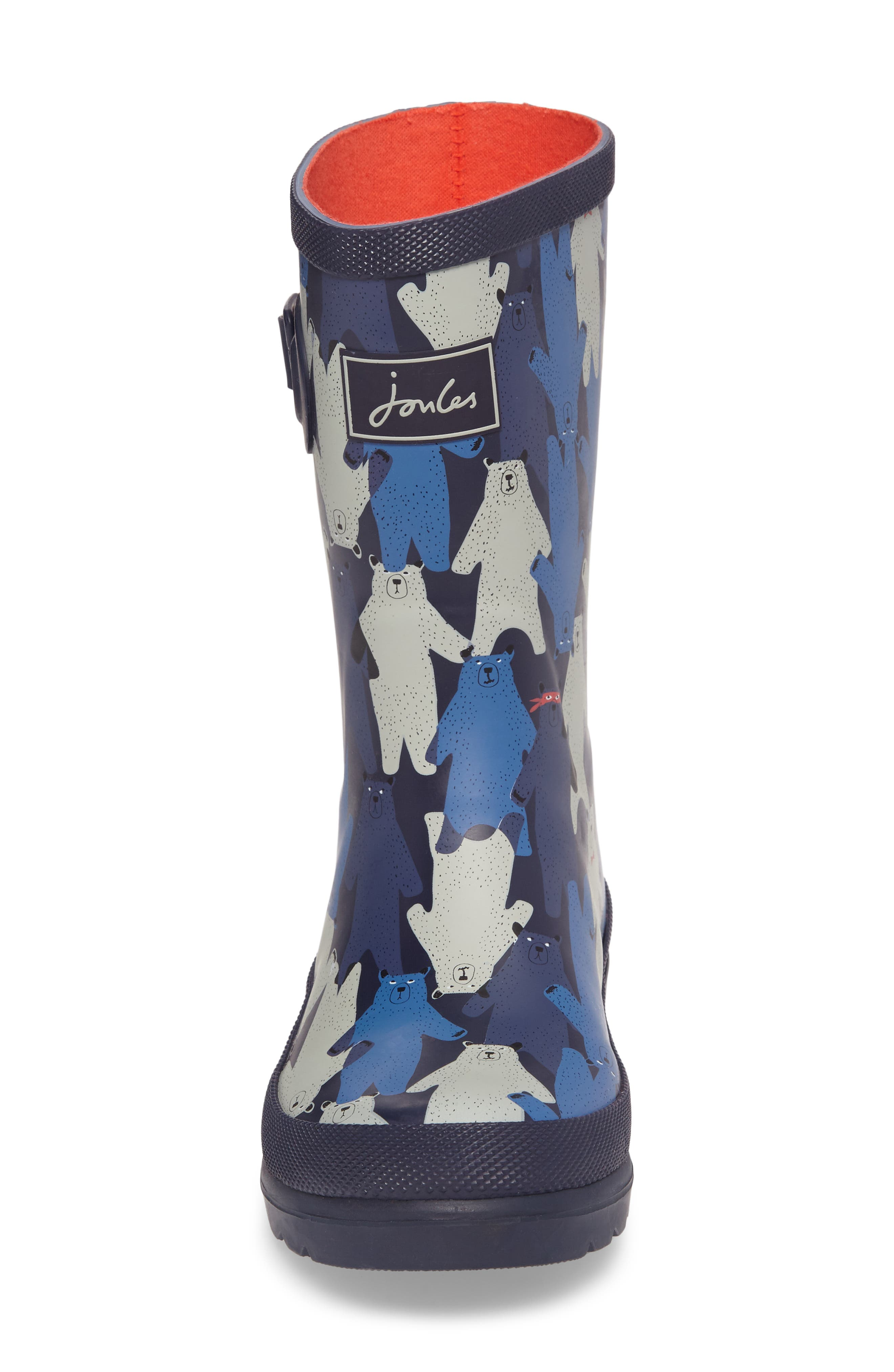 Alternate Image 4  - Joules Printed Waterproof Rain Boot (Toddler, Little Kid & Big Kid)