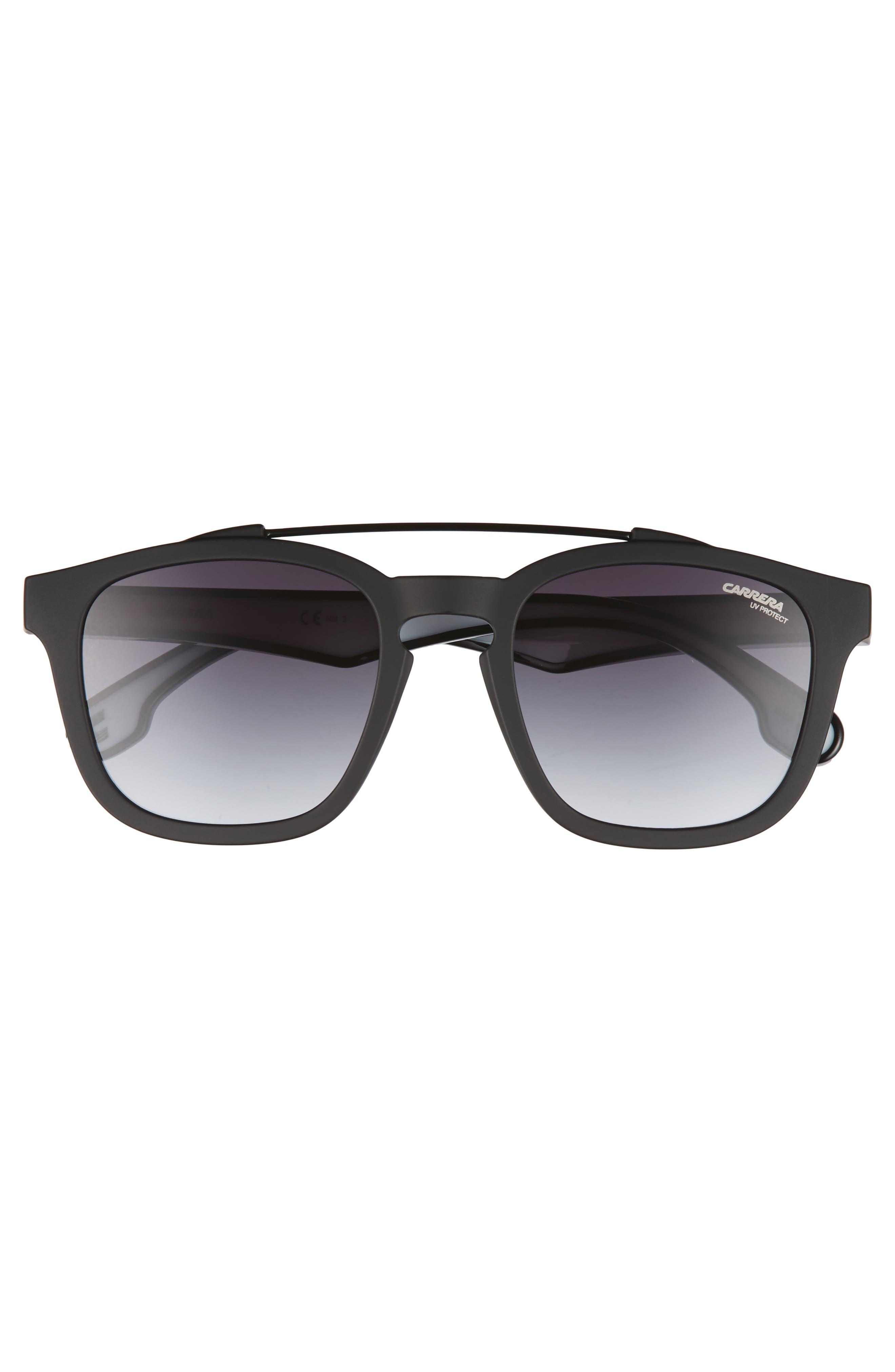 1011S Sunglasses,                             Alternate thumbnail 2, color,                             Matte Black/ Drk Gray Gradient