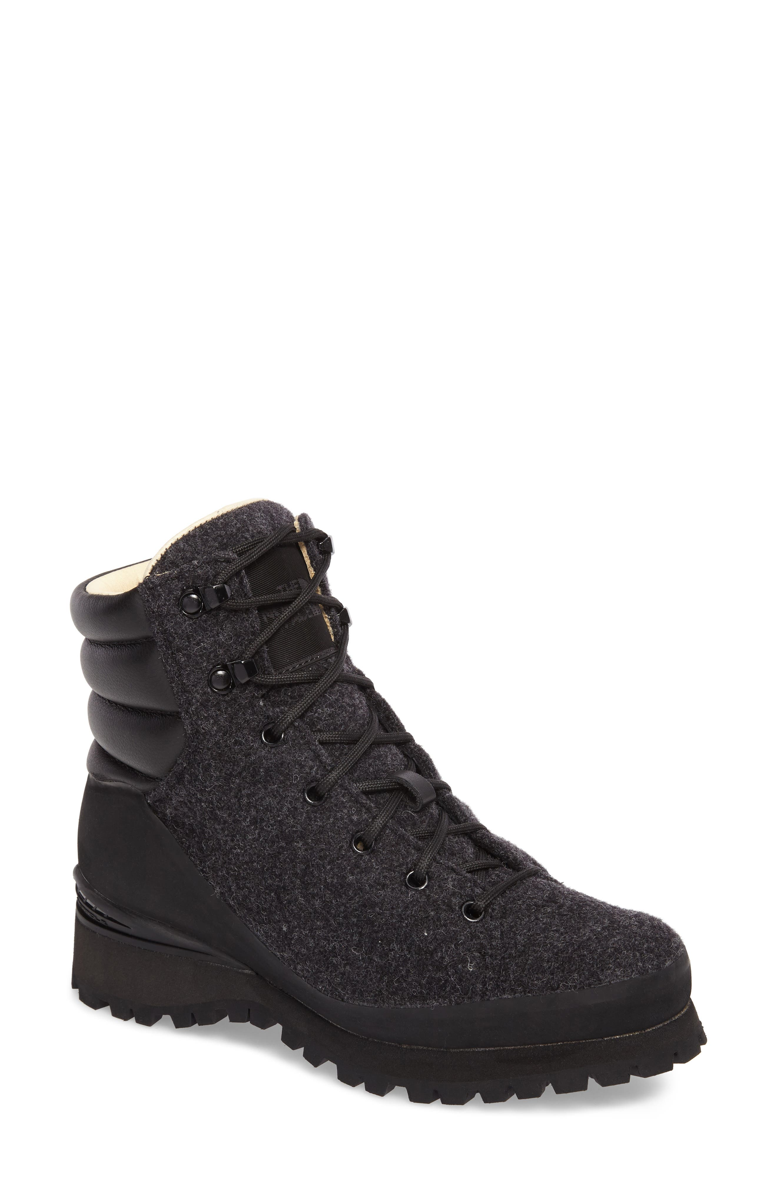 Cryos Hiker Boot,                             Main thumbnail 1, color,                             Tnf Black/ Tnf Black