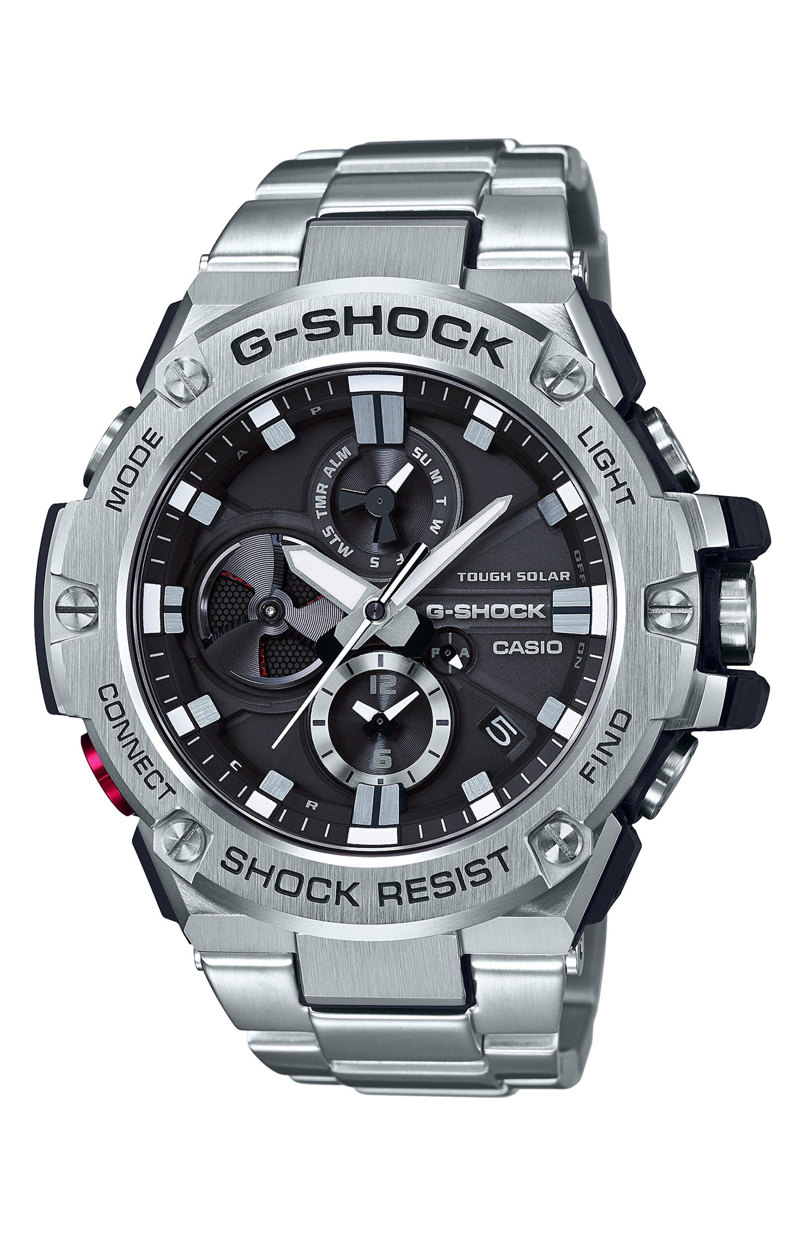 G-Shock Baby-G G-Steel Chronograph Watch, 53.8mm