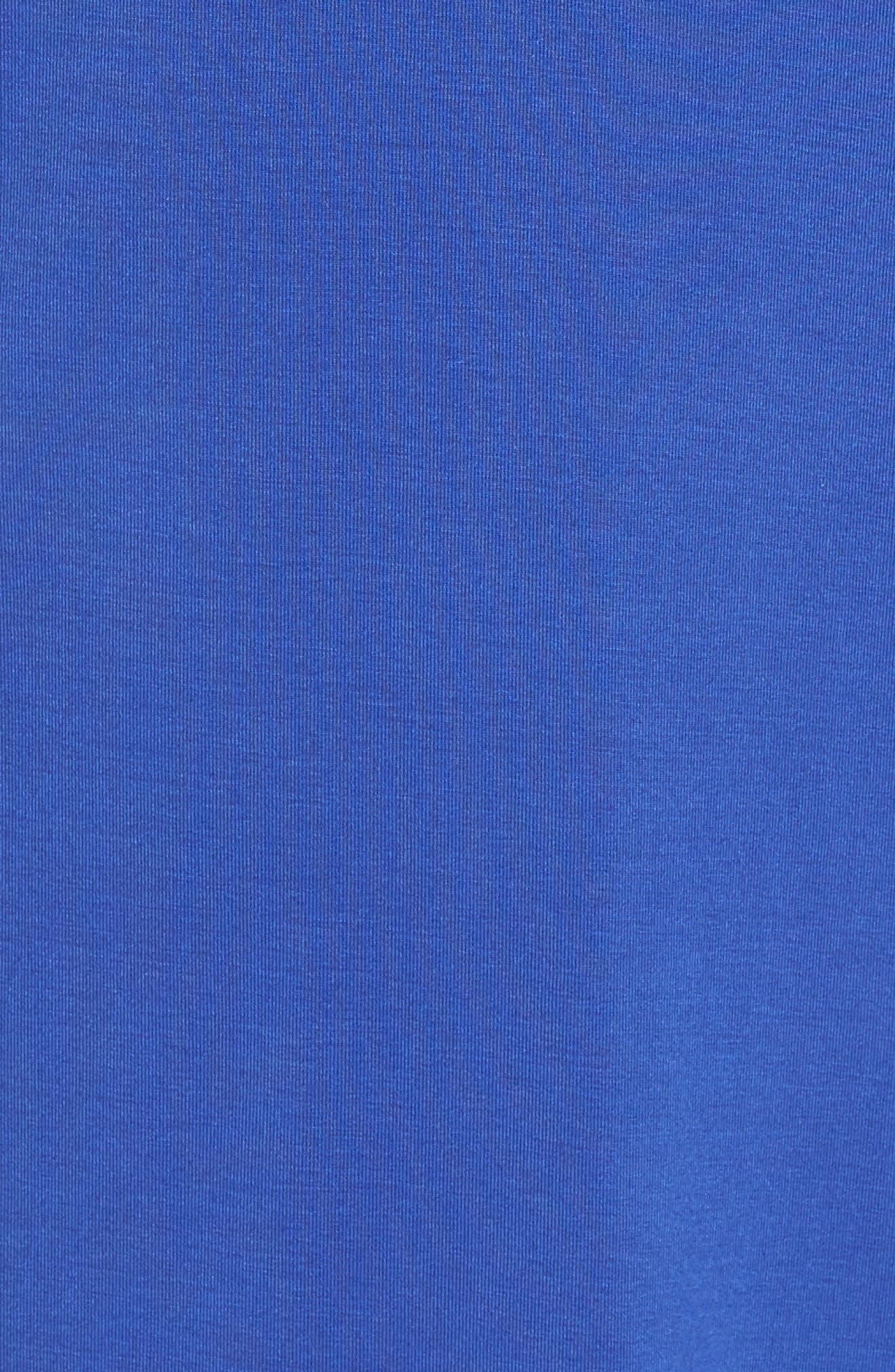 Lace Trim Chemise,                             Alternate thumbnail 5, color,                             Royal