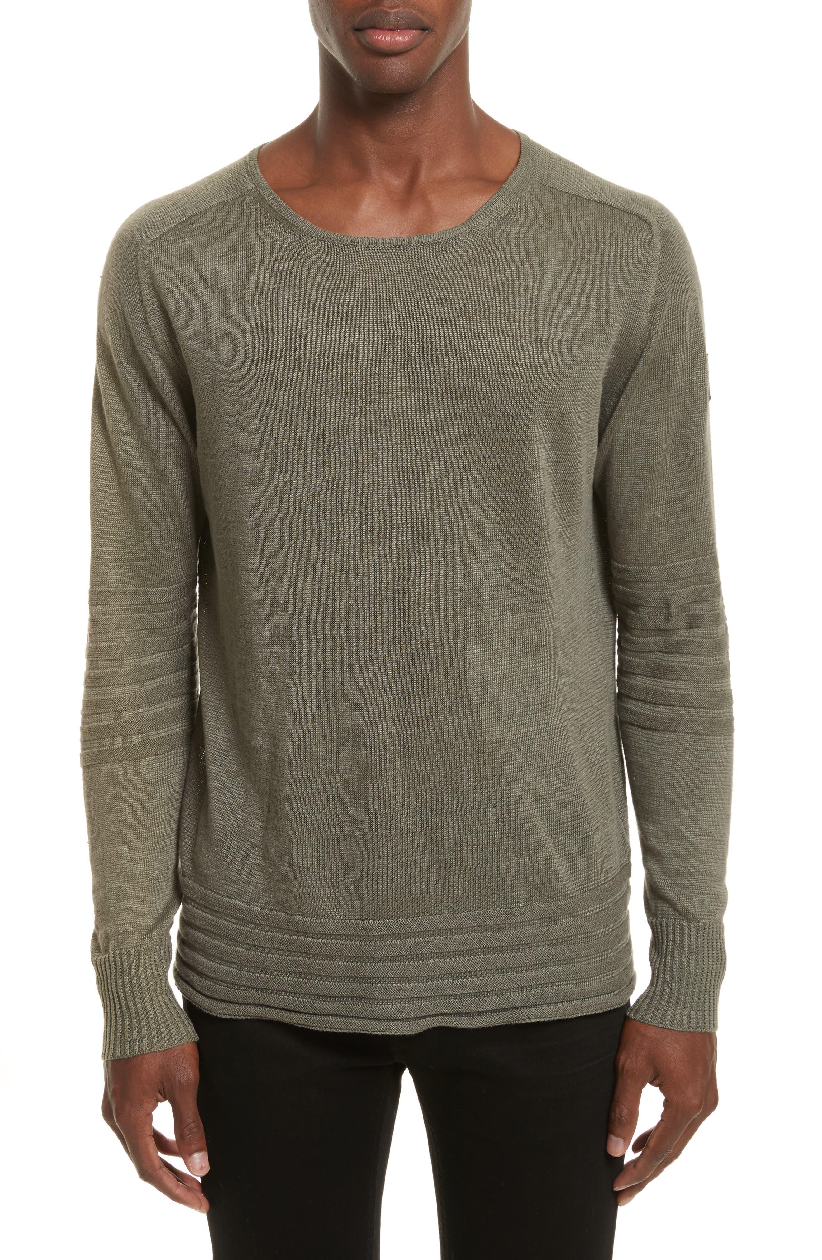 Alternate Image 1 Selected - Belstaff Exford Linen Crewneck Sweater