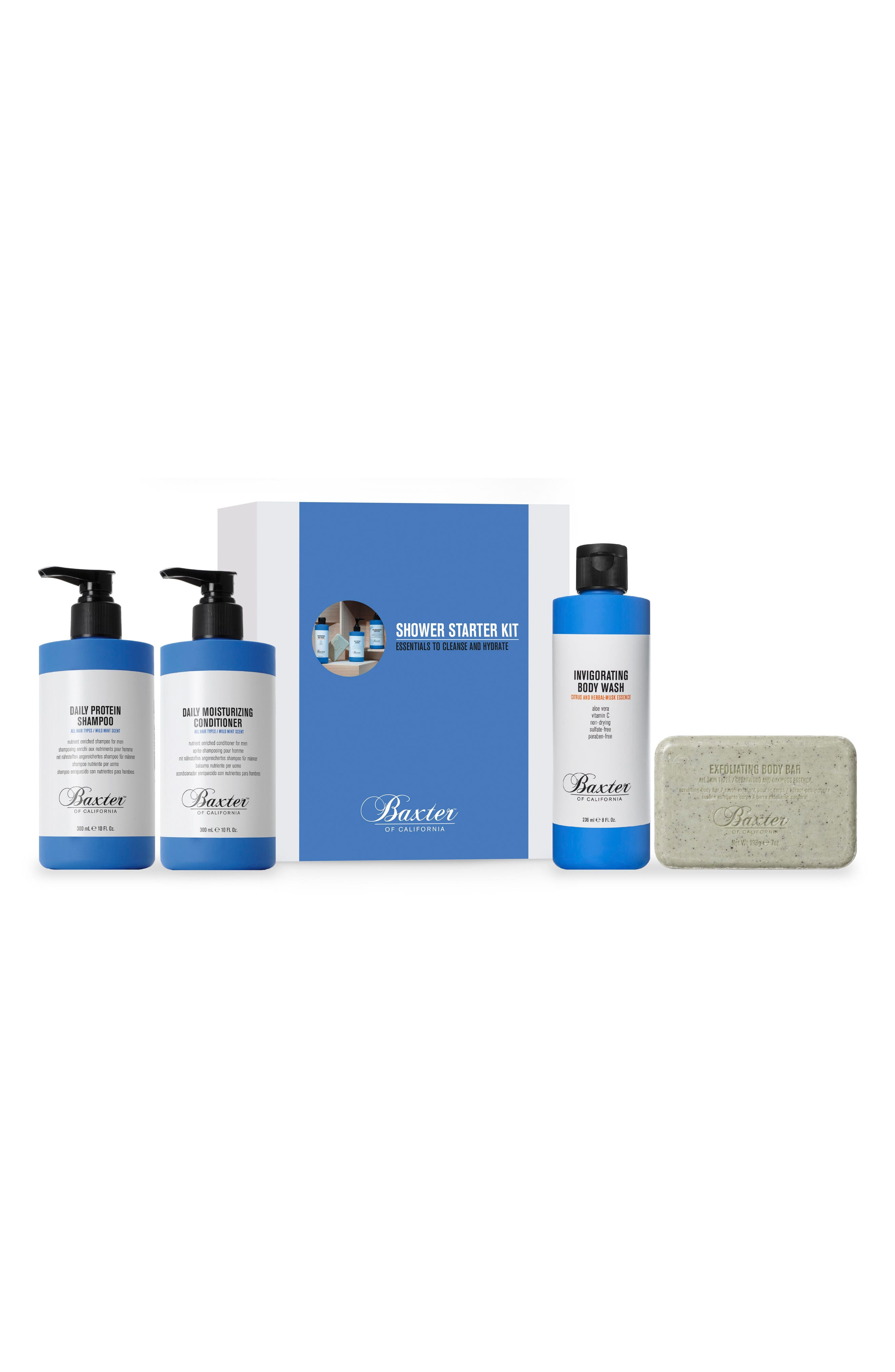 Baxter of California Men's Shower Set ($72 Value)