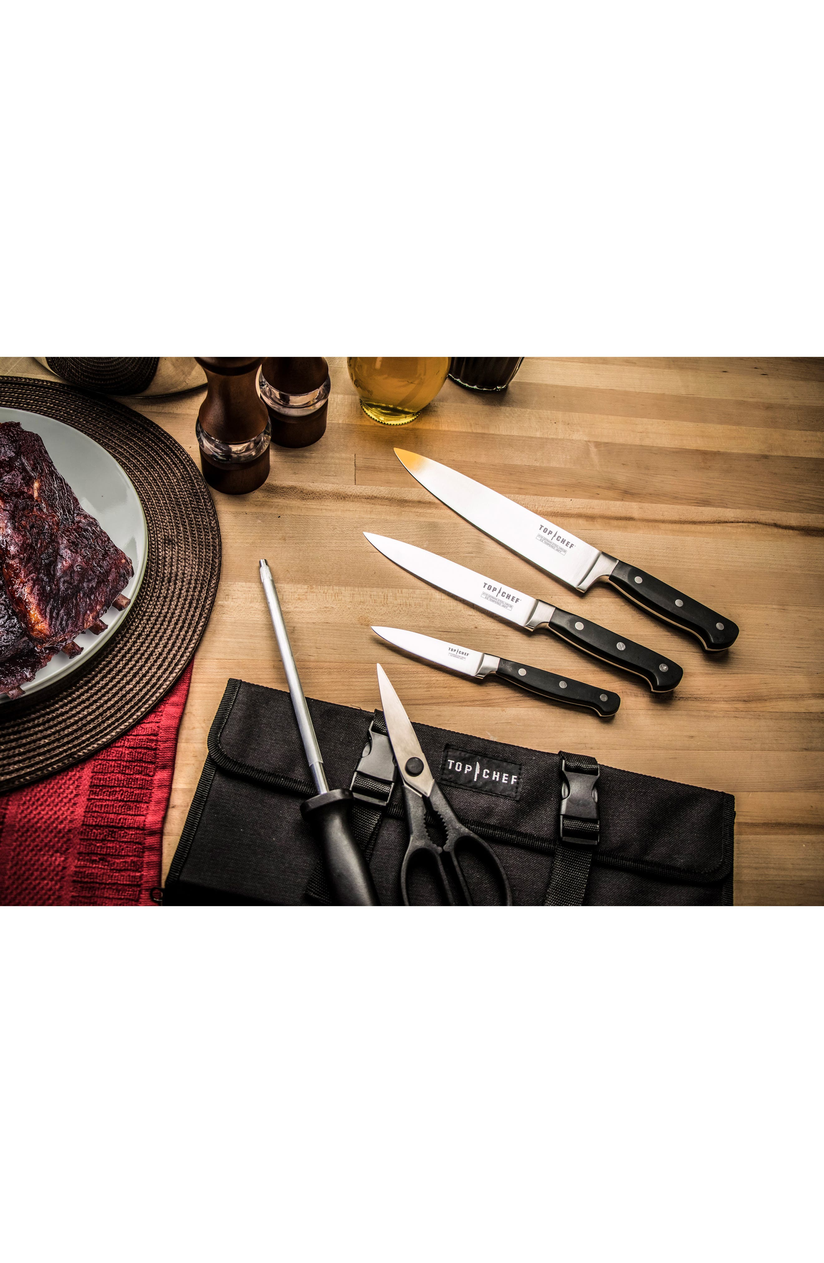 Alternate Image 2  - TOP CHEF 6-Piece Carry Along Knife Set