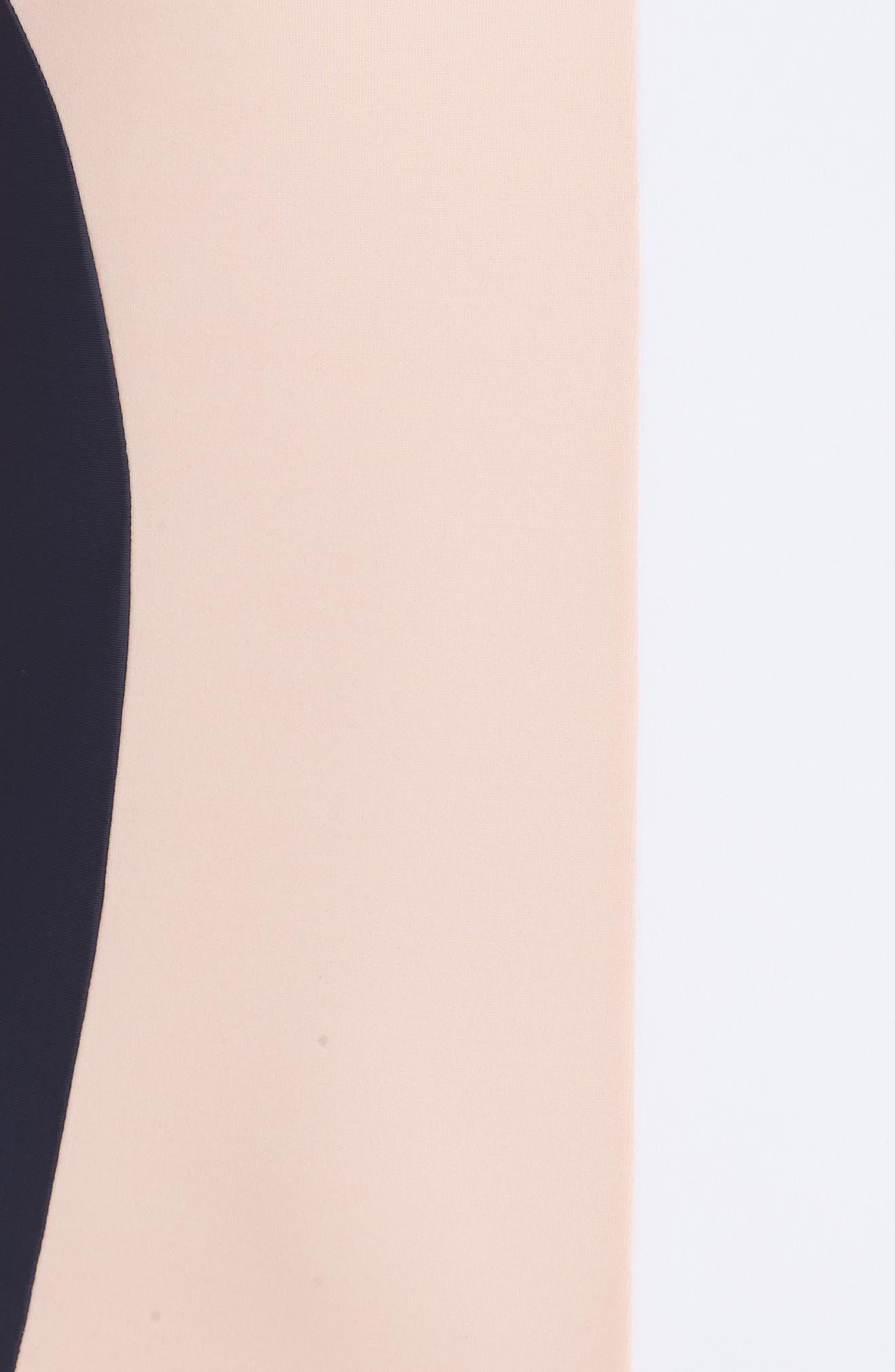 Alternate Image 5  - PilyQ Farrah Colorblock One-Piece Swimsuit