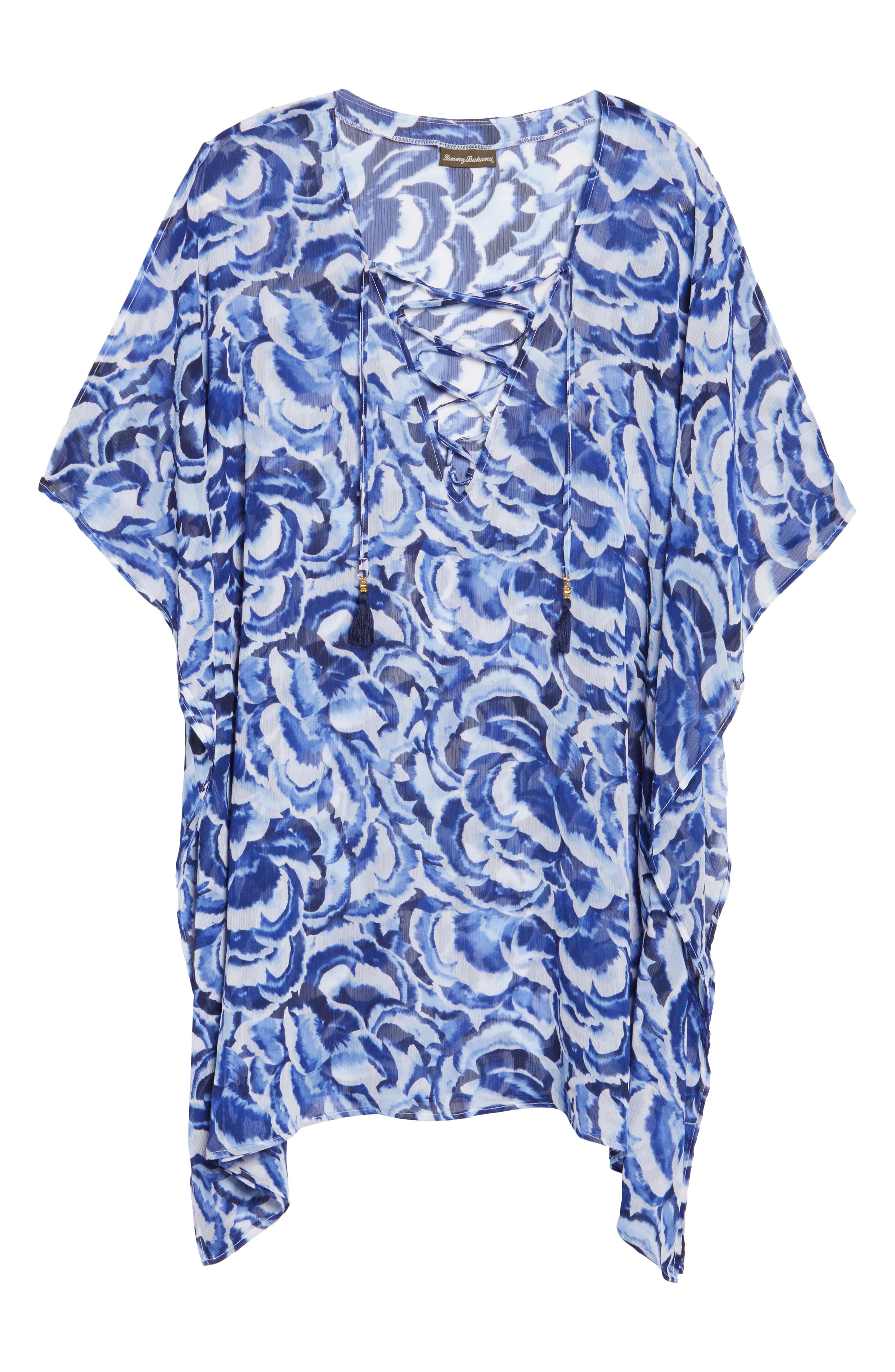 Alternate Image 6  - Tommy Bahama Pansy Petals Tunic Cover Up