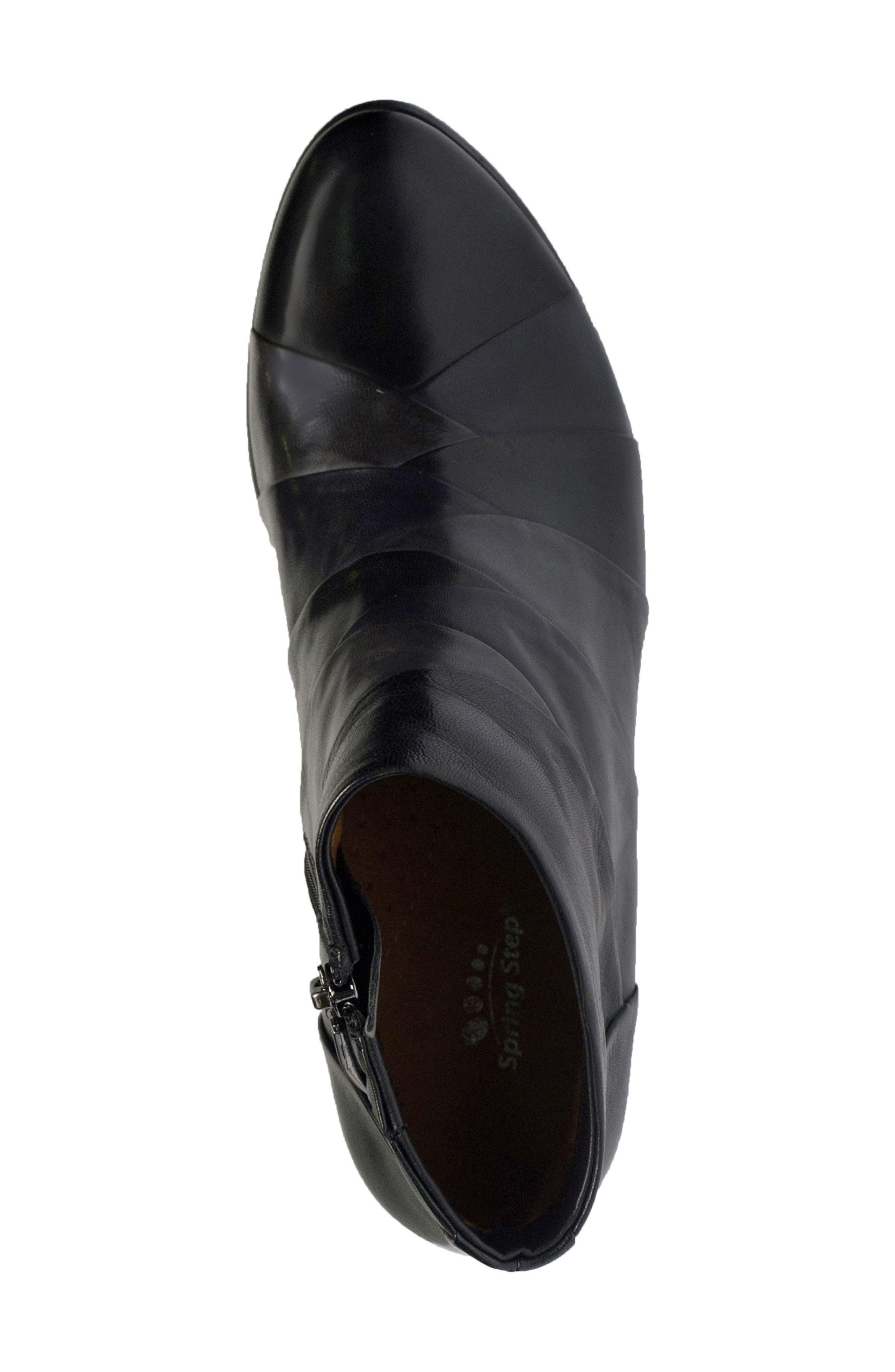 Binzo Bootie,                             Alternate thumbnail 4, color,                             Black Multi Leather