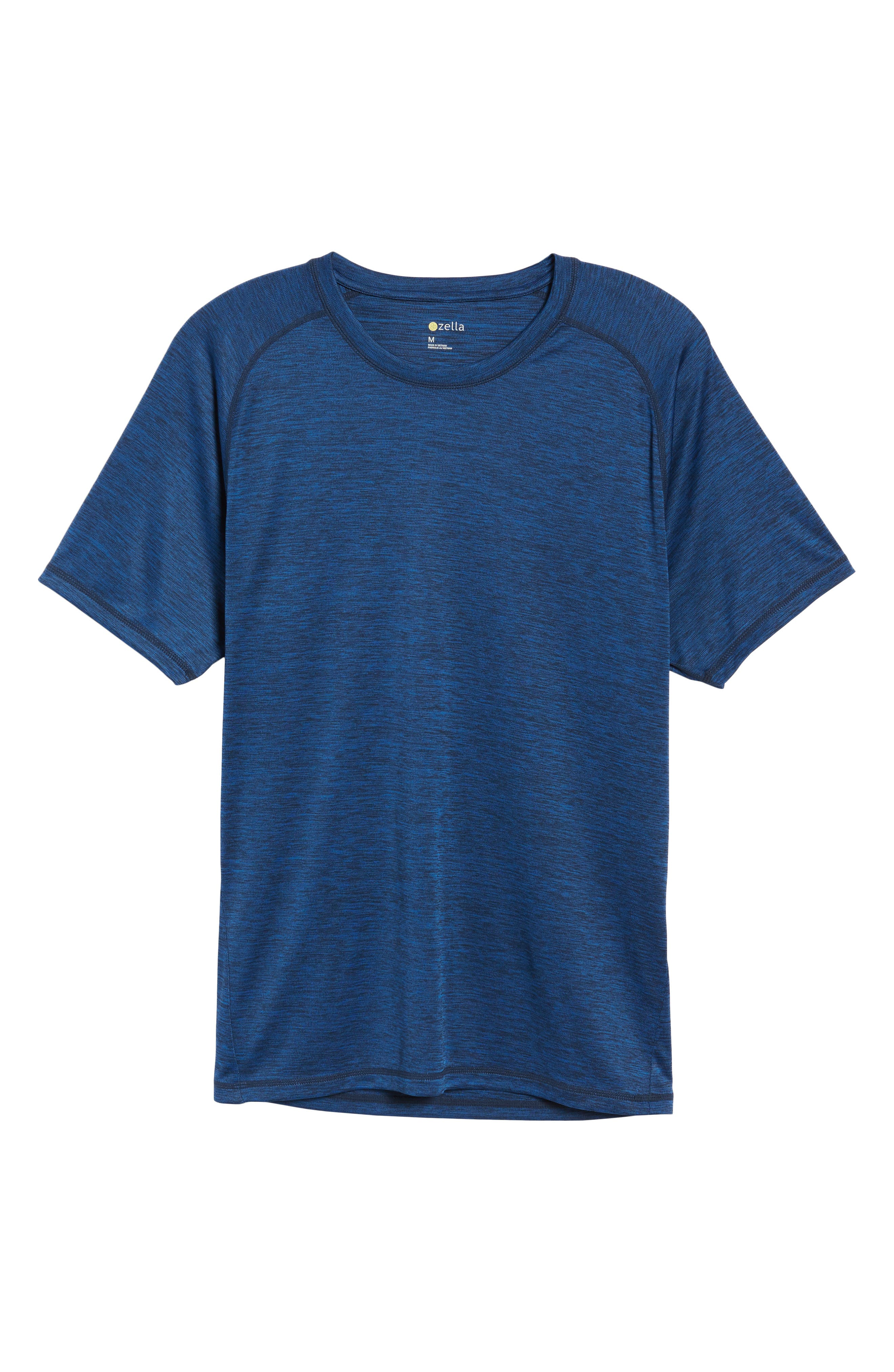 Triplite T-Shirt,                         Main,                         color, Navy Malachite Melange