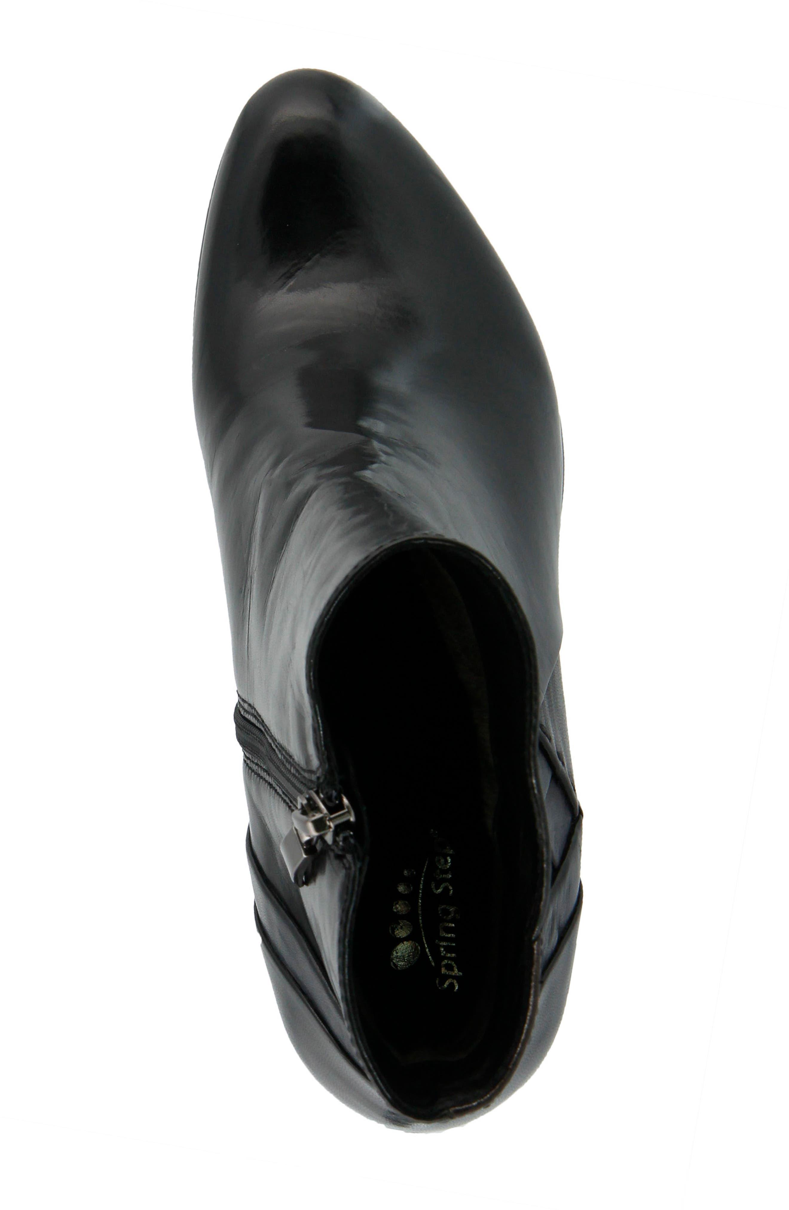 Gaspar Bootie,                             Alternate thumbnail 4, color,                             Black Multi Leather