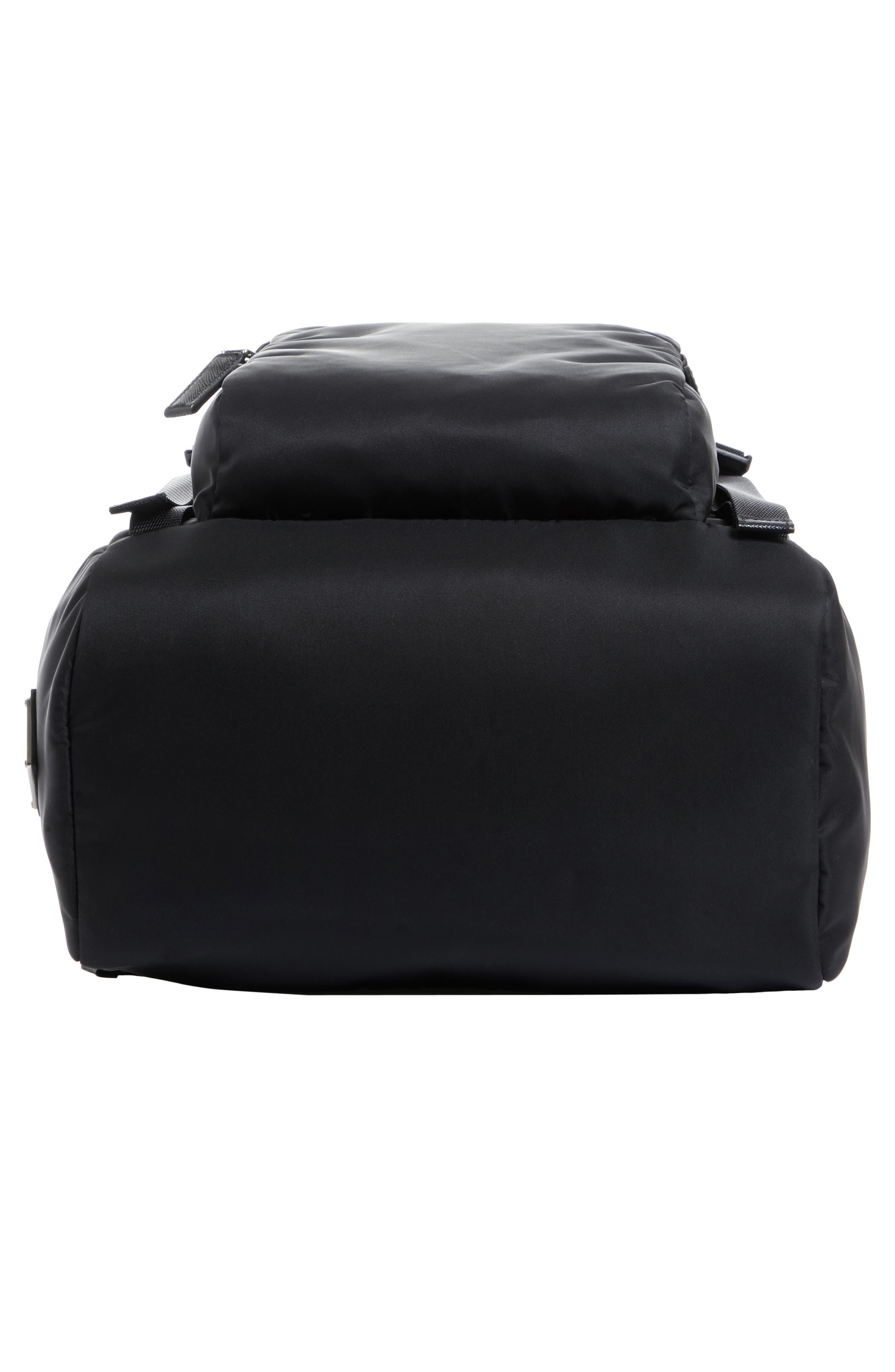 Montagna Backpack,                             Alternate thumbnail 6, color,                             Nero