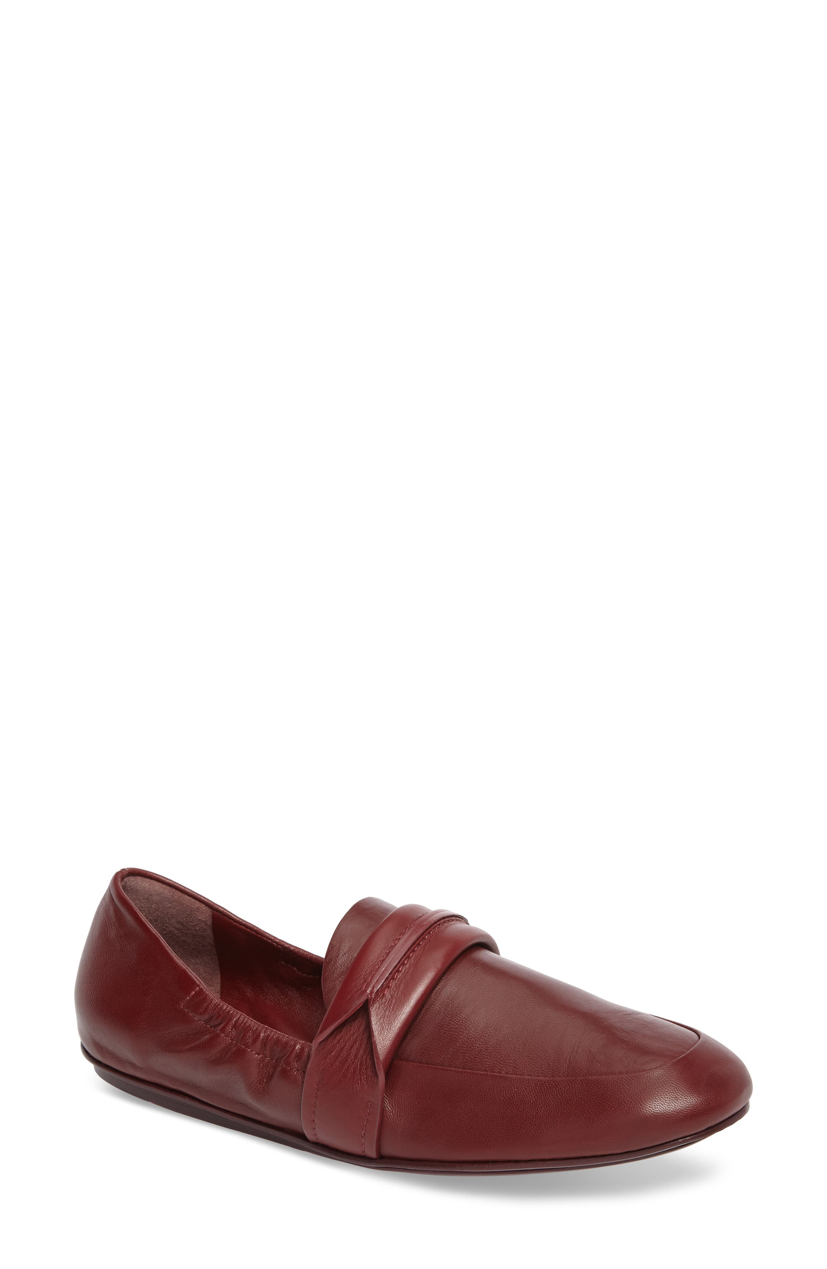 Alternate Image 1 Selected - Mercedes Castillo Erin Loafer Flat (Women)