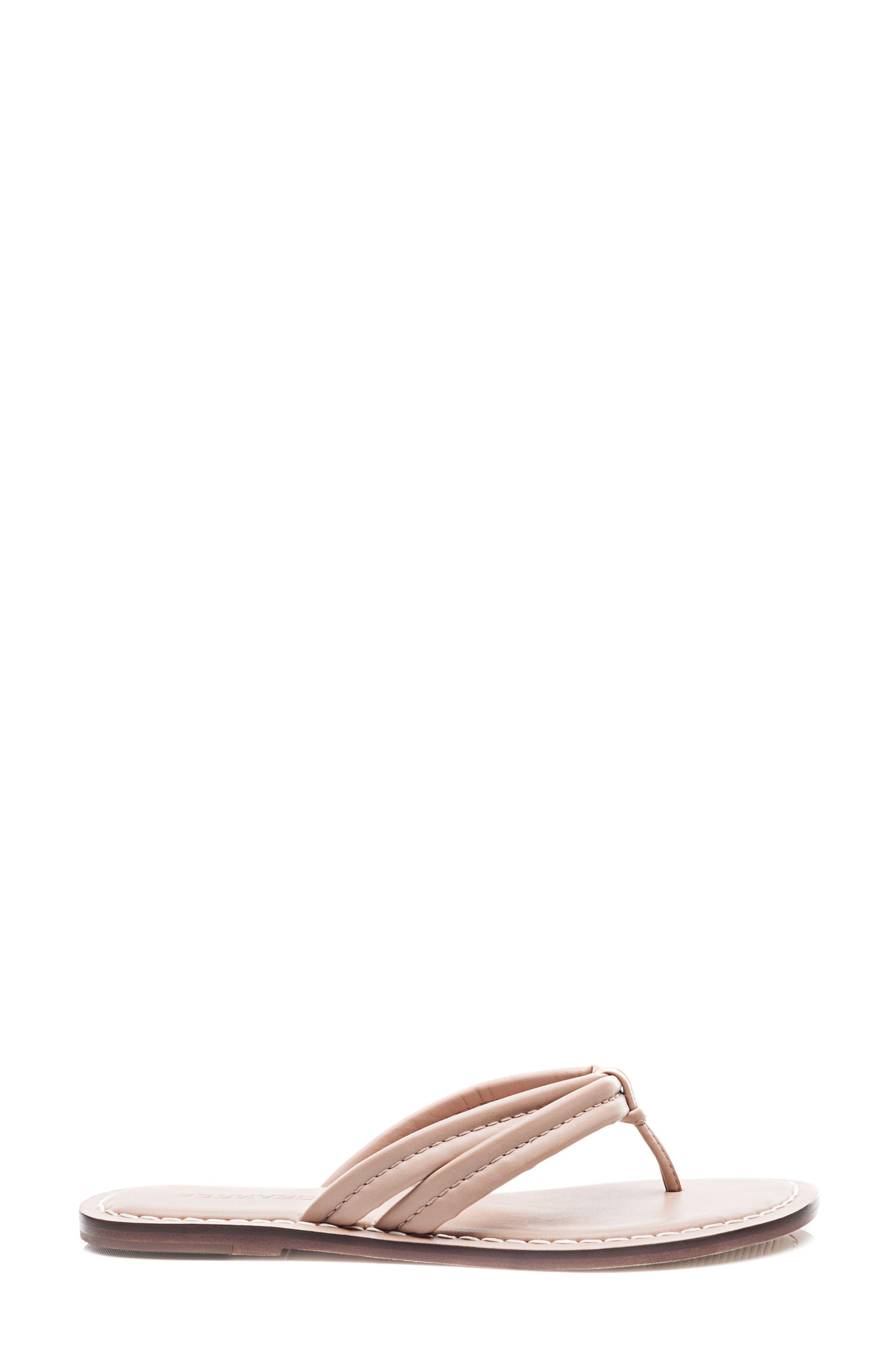 Bernardo Miami Sandal,                             Alternate thumbnail 3, color,                             Blush Leather