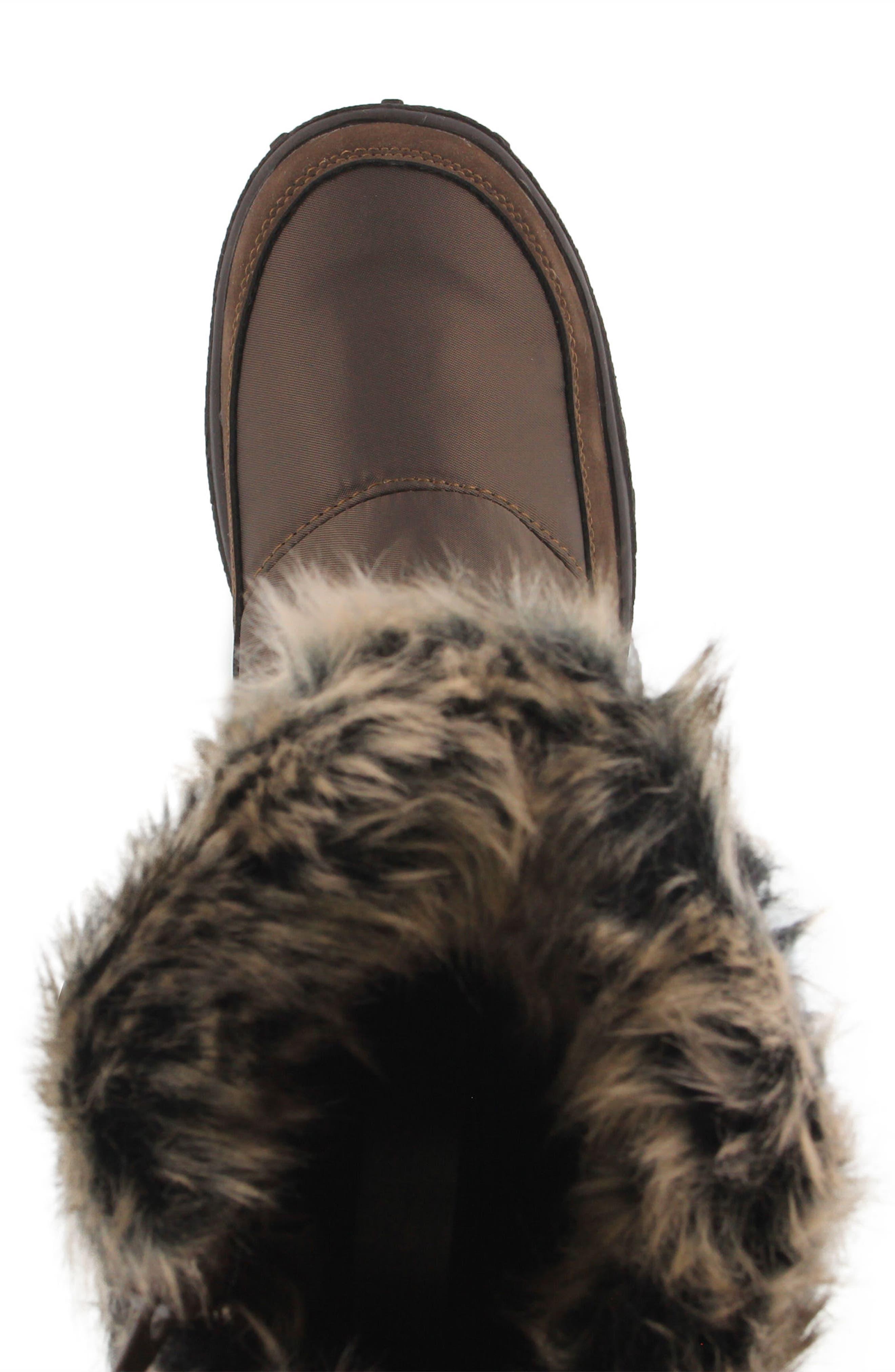 Alternate Image 4  - Spring Step Vanish Faux Fur Trim Waterproof Boot (Women)