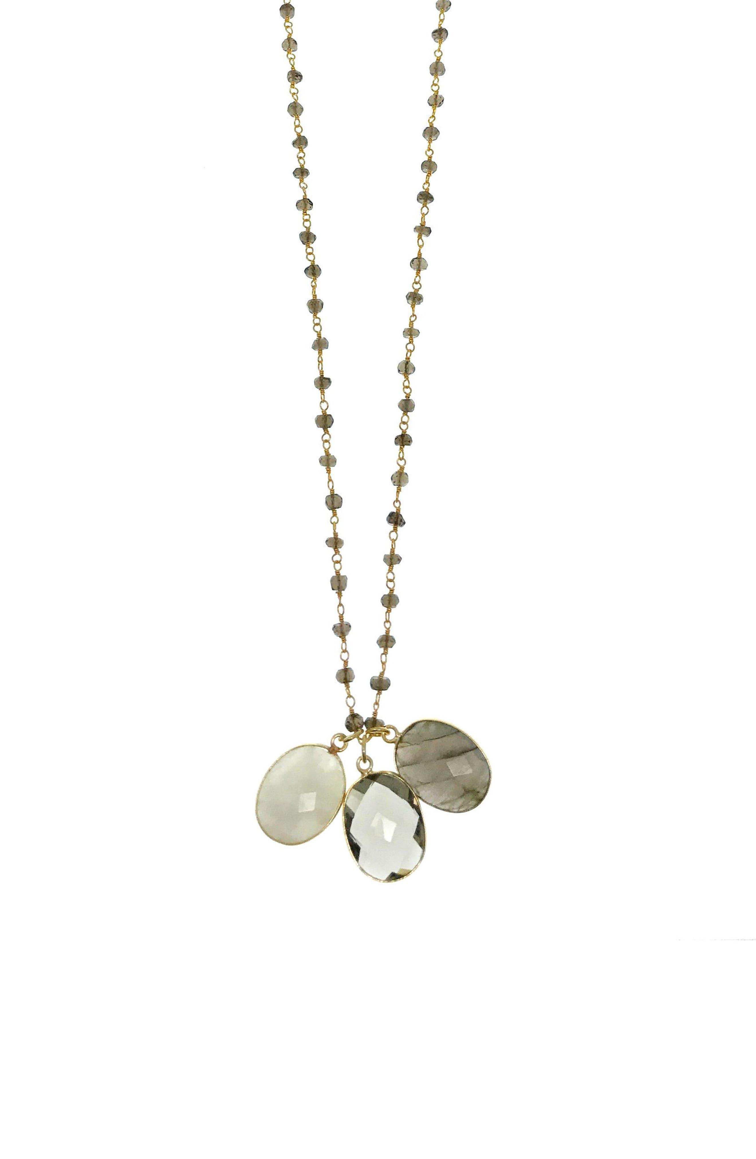 Alternate Image 3  - Jemma Sands Grenada Long Pendant Necklace
