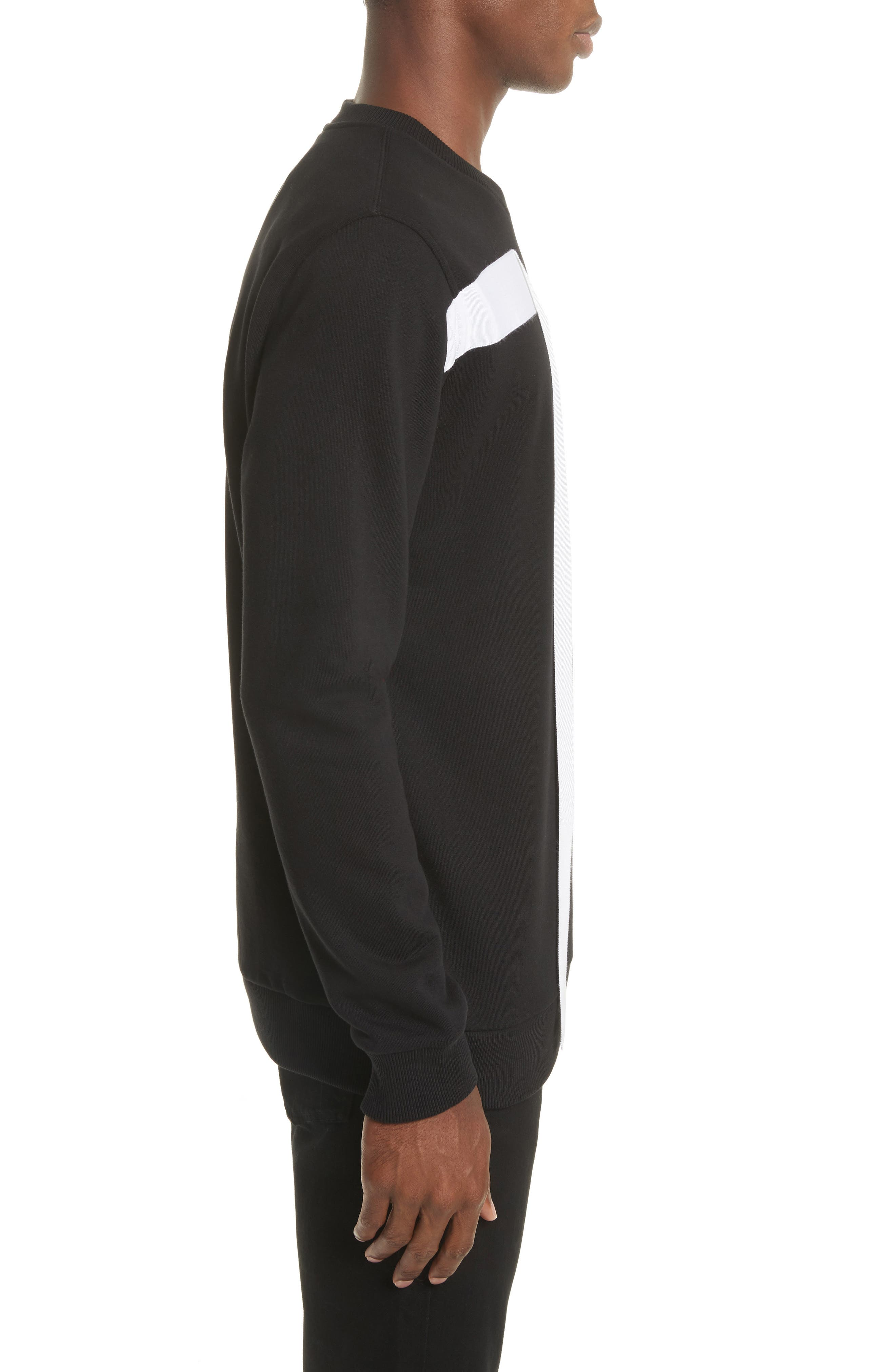Alternate Image 3  - Givenchy Flying Bands Crewneck Sweatshirt