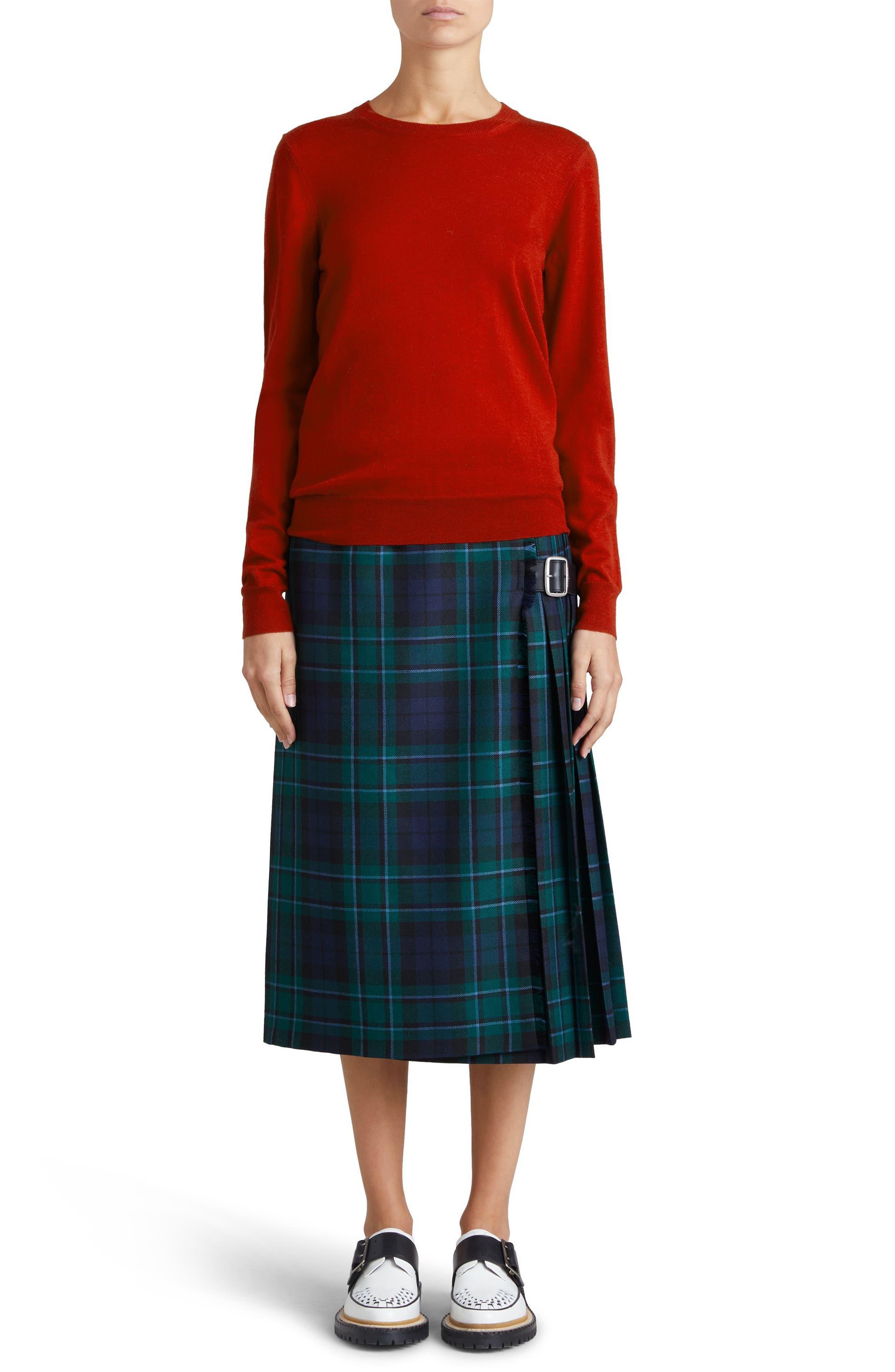 Alternate Image 5  - Burberry Viar Merino Wool Sweater
