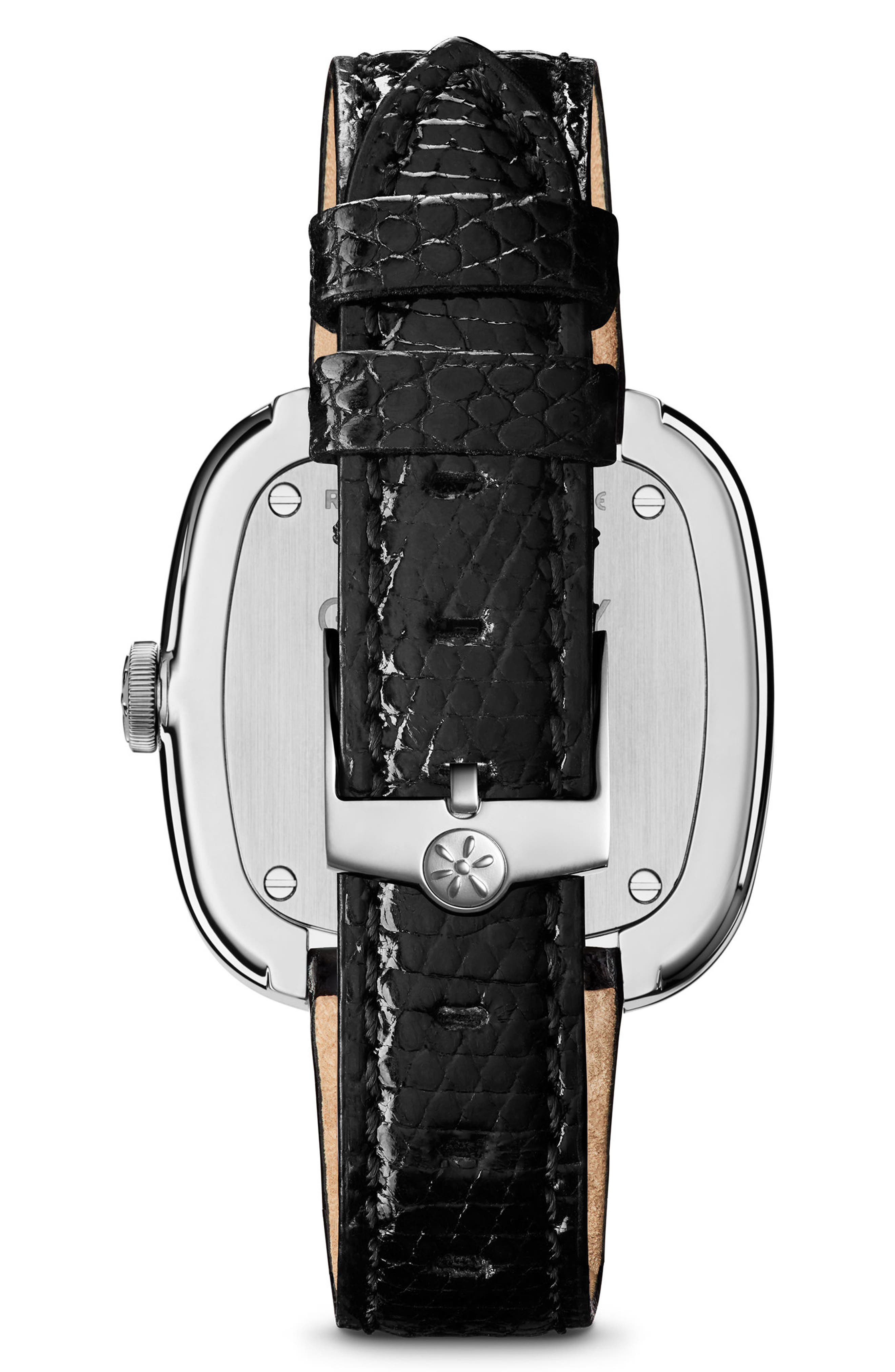 Alternate Image 3  - Gomelsky The Eppie Sneed Mini Lizardskin Strap Watch, 32mm