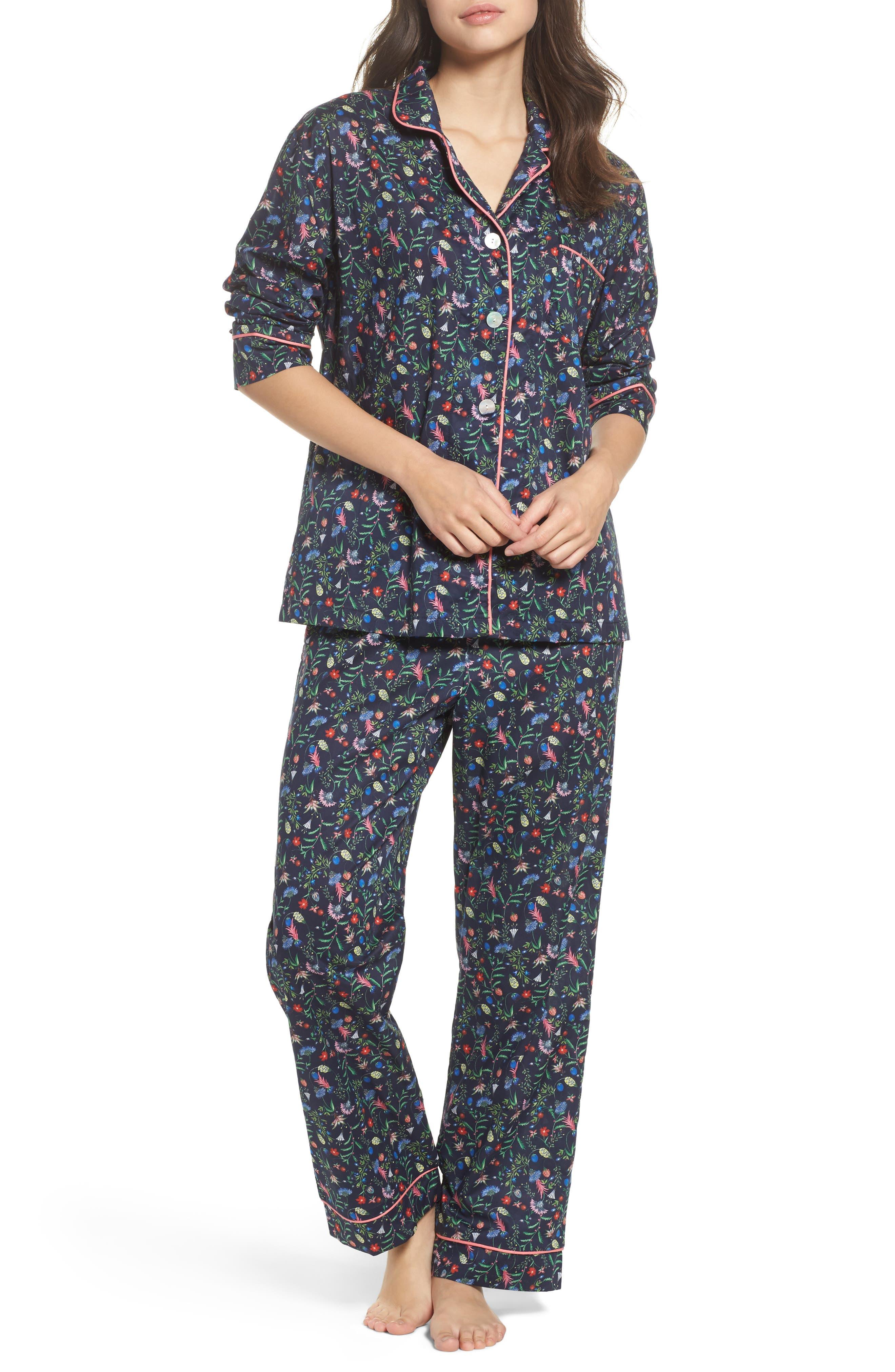 Classic Pajamas,                             Main thumbnail 1, color,                             Temptation Meadow