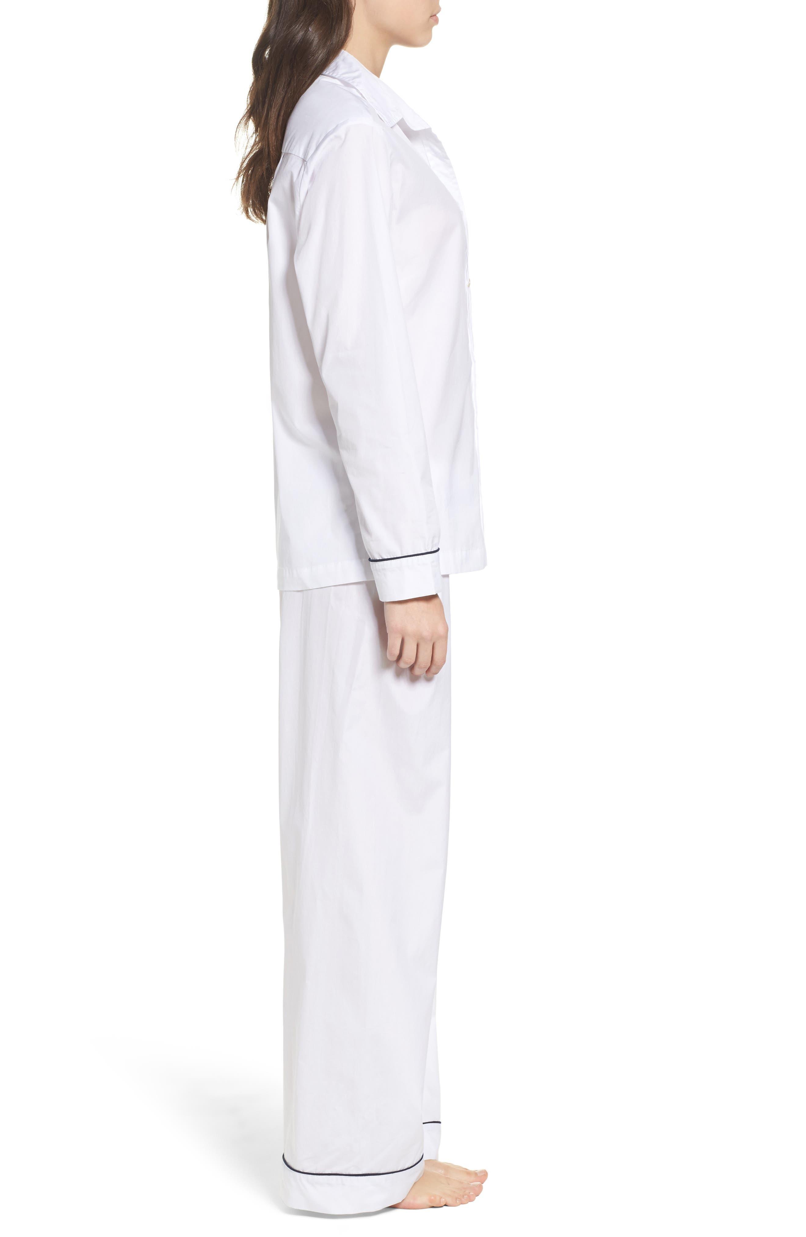 Alternate Image 3  - Pour Les Femmes Piped Pajamas