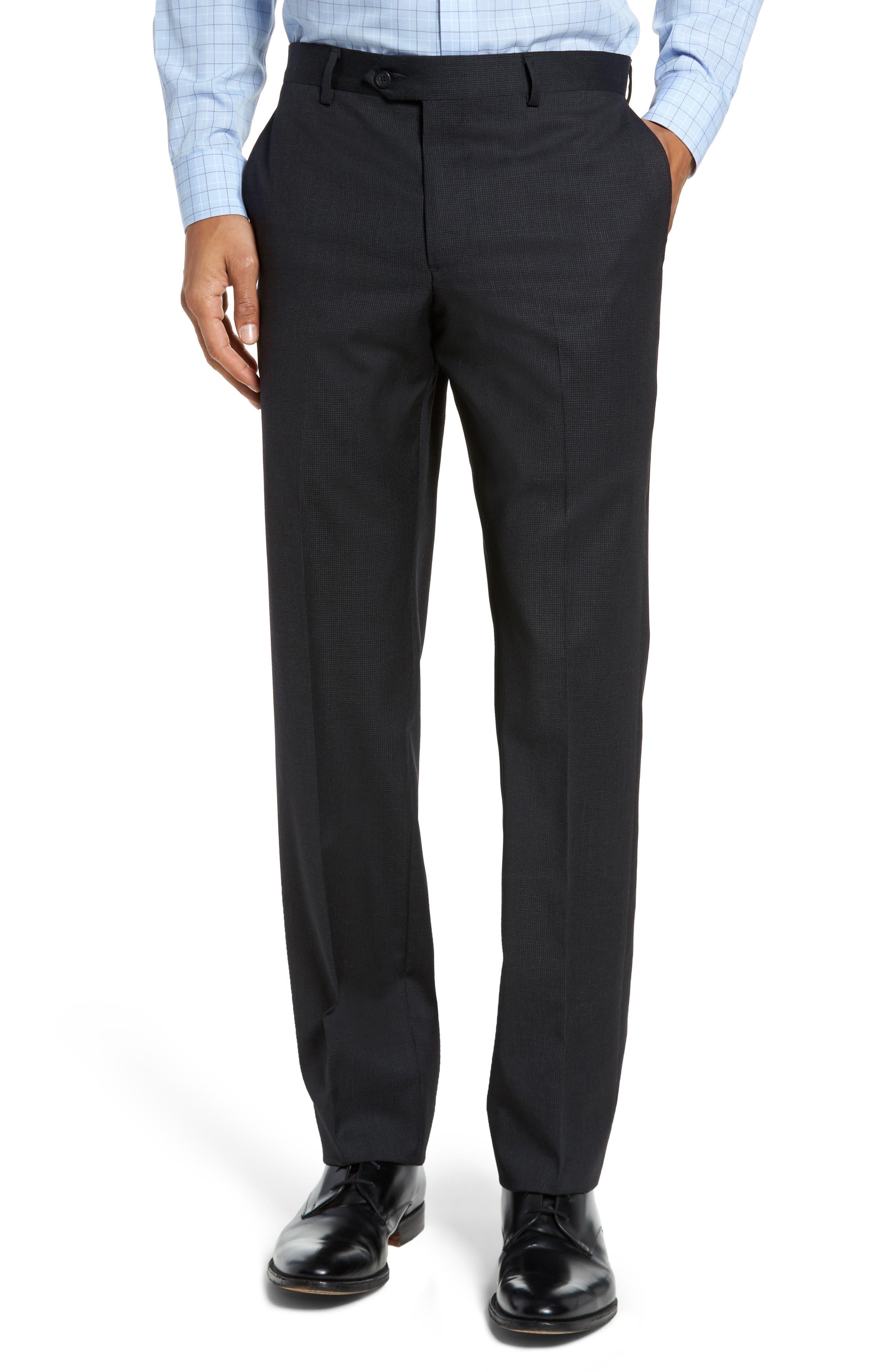 Alternate Image 6  - Nordstrom Men's Shop Classic Fit Check Wool Suit