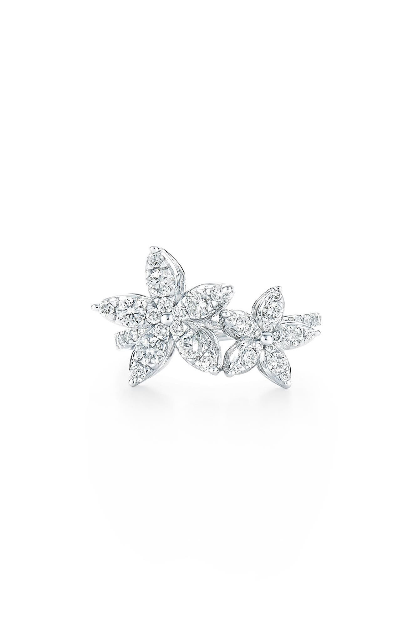 Alternate Image 1 Selected - Kwiat Sunburst Diamond Station Ring
