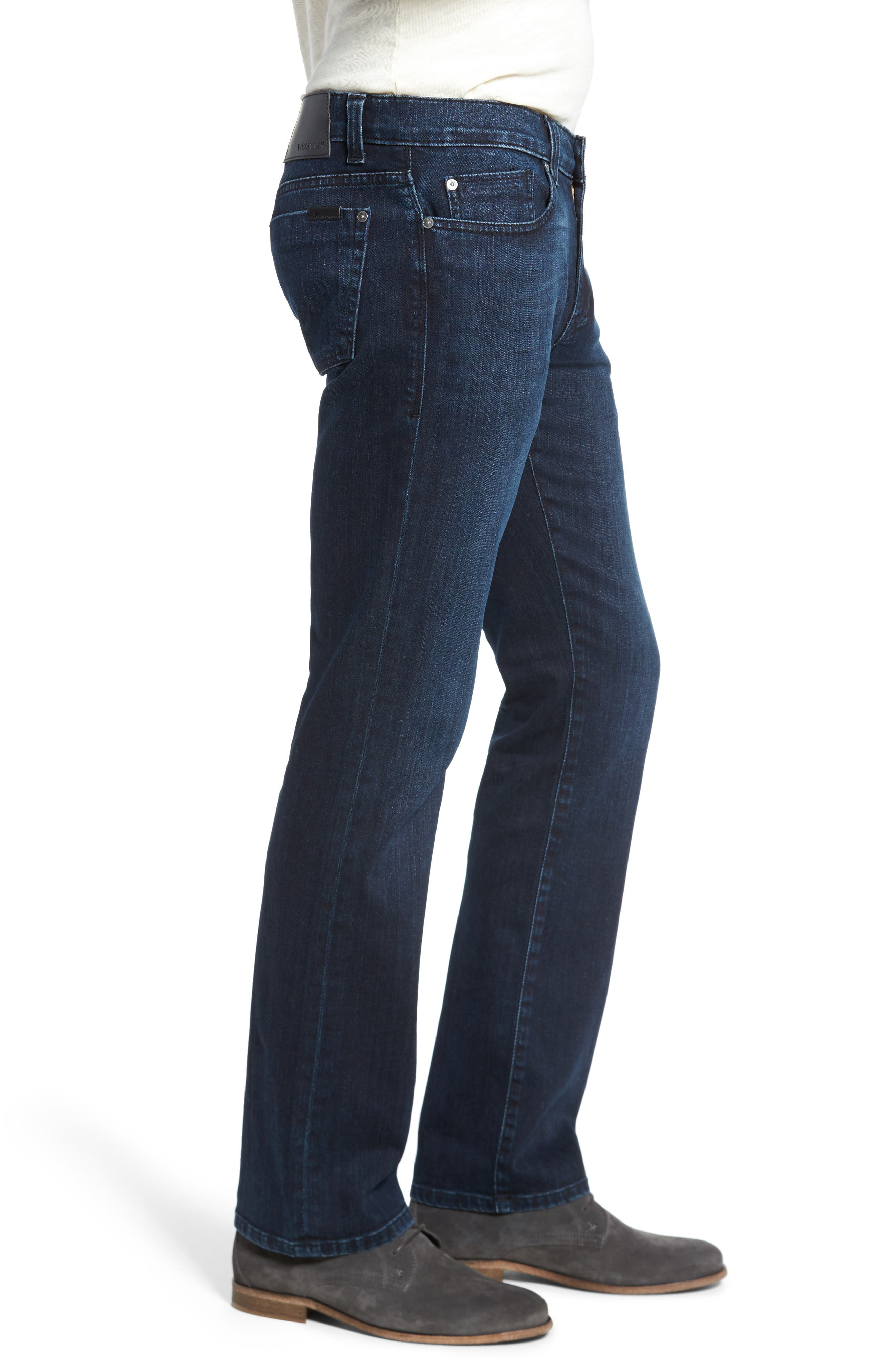 5011 Relaxed Fit Jeans,                             Alternate thumbnail 3, color,                             Black On Blue