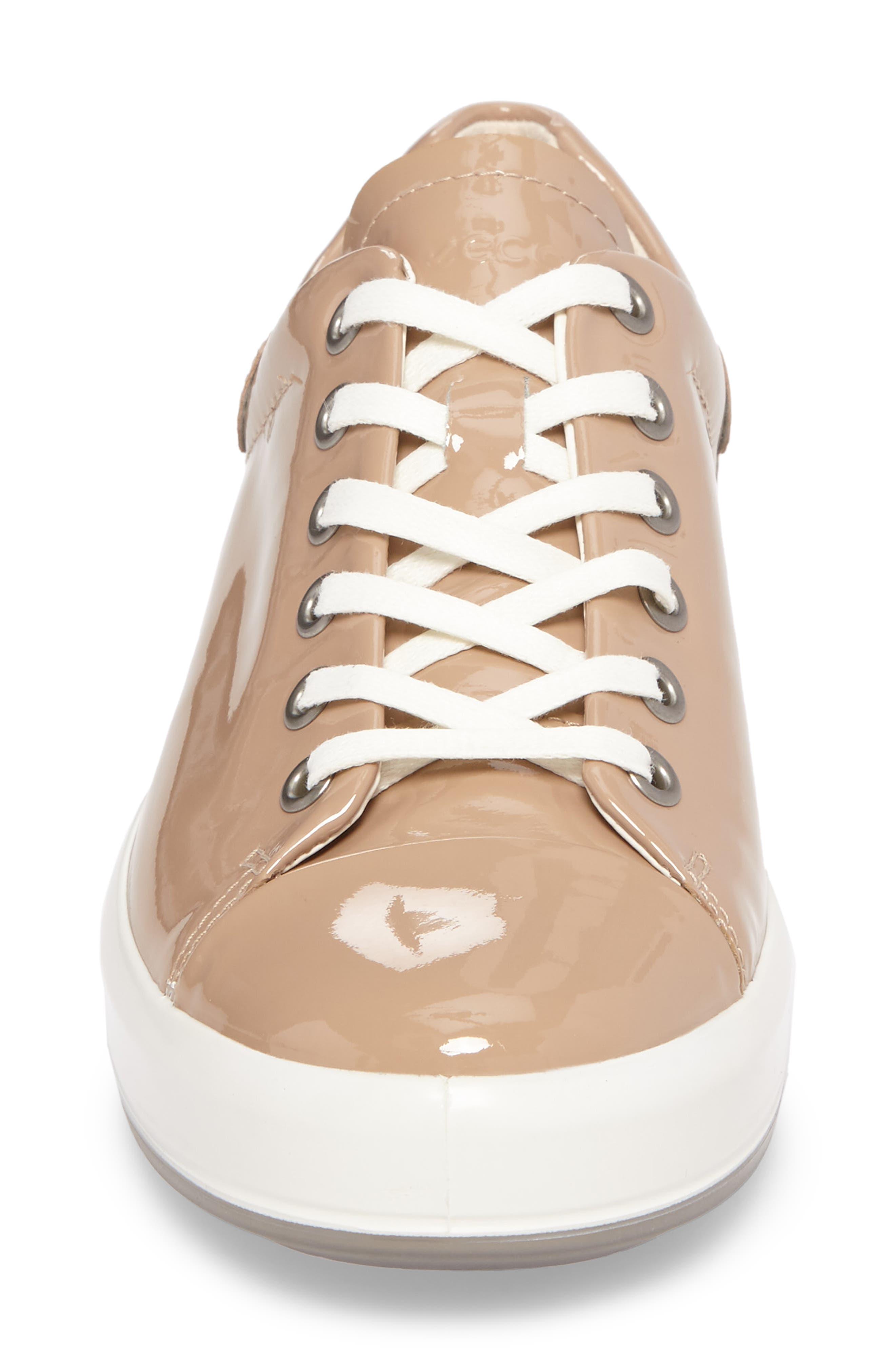 Soft 9 Sneaker,                             Alternate thumbnail 4, color,                             Ginger Leather