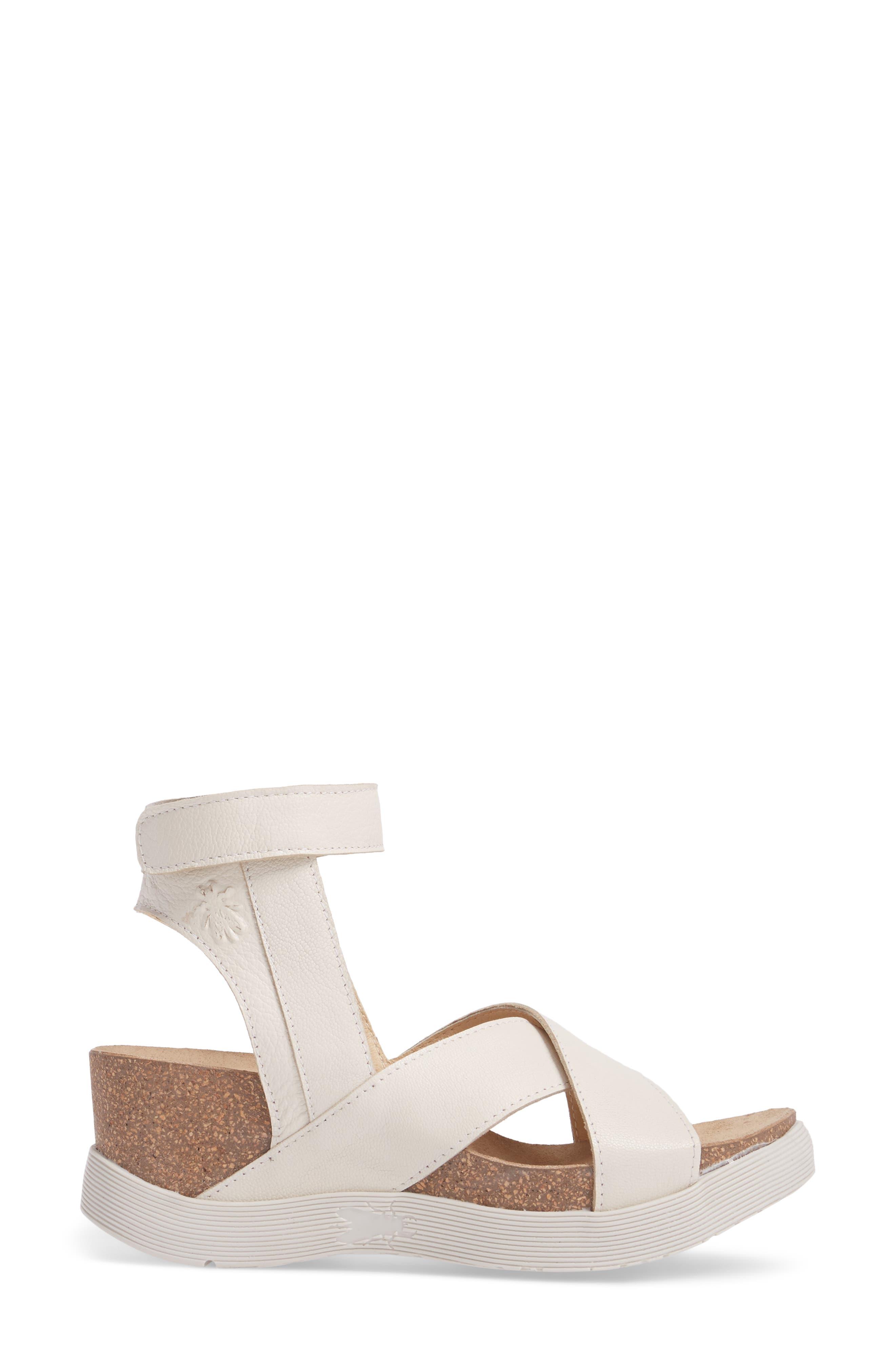 Alternate Image 3  - Fly London Weel Nubuck Leather Platform Sandal (Women)