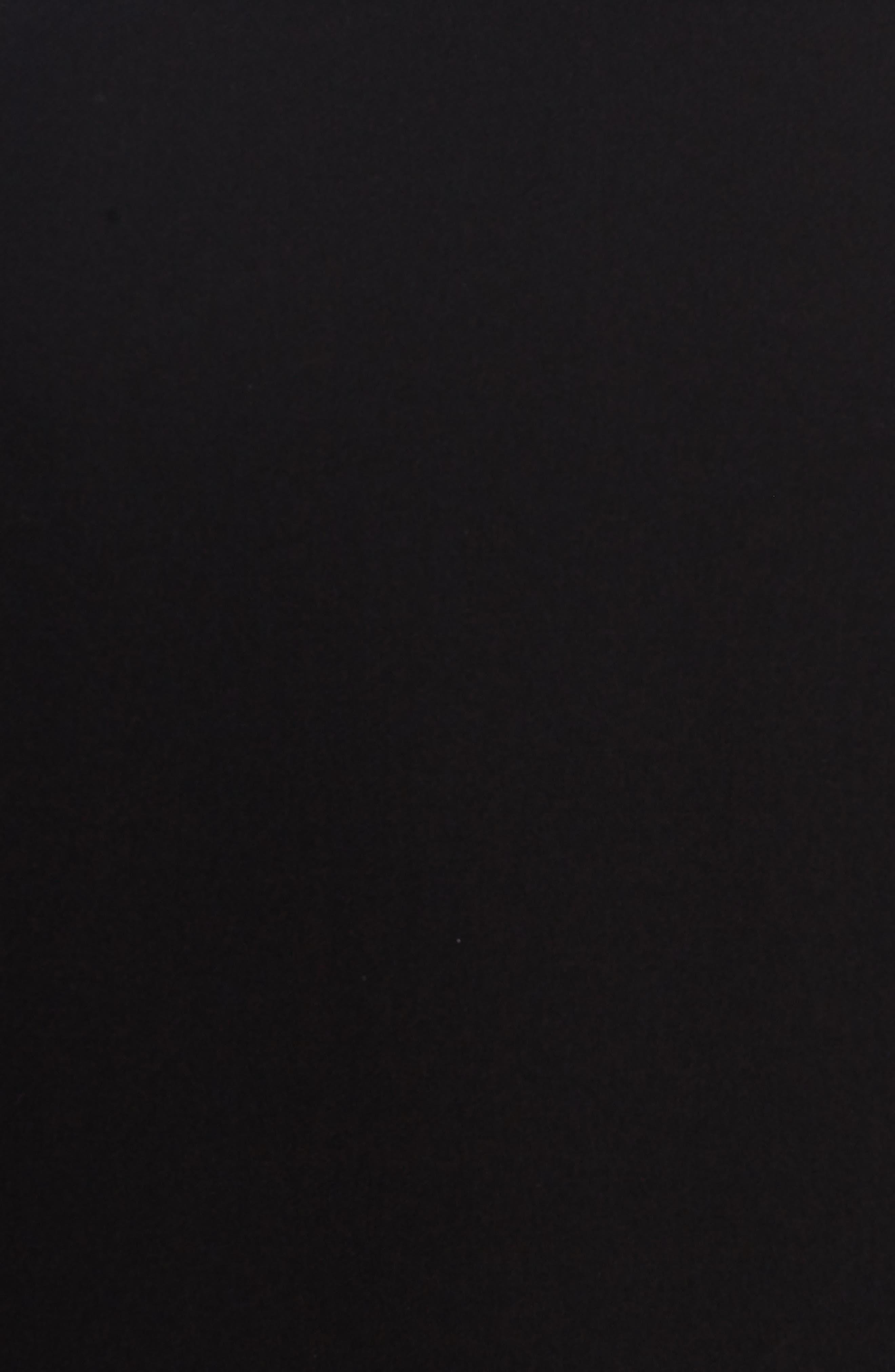 Oversize Shirtdress,                             Alternate thumbnail 5, color,                             Black