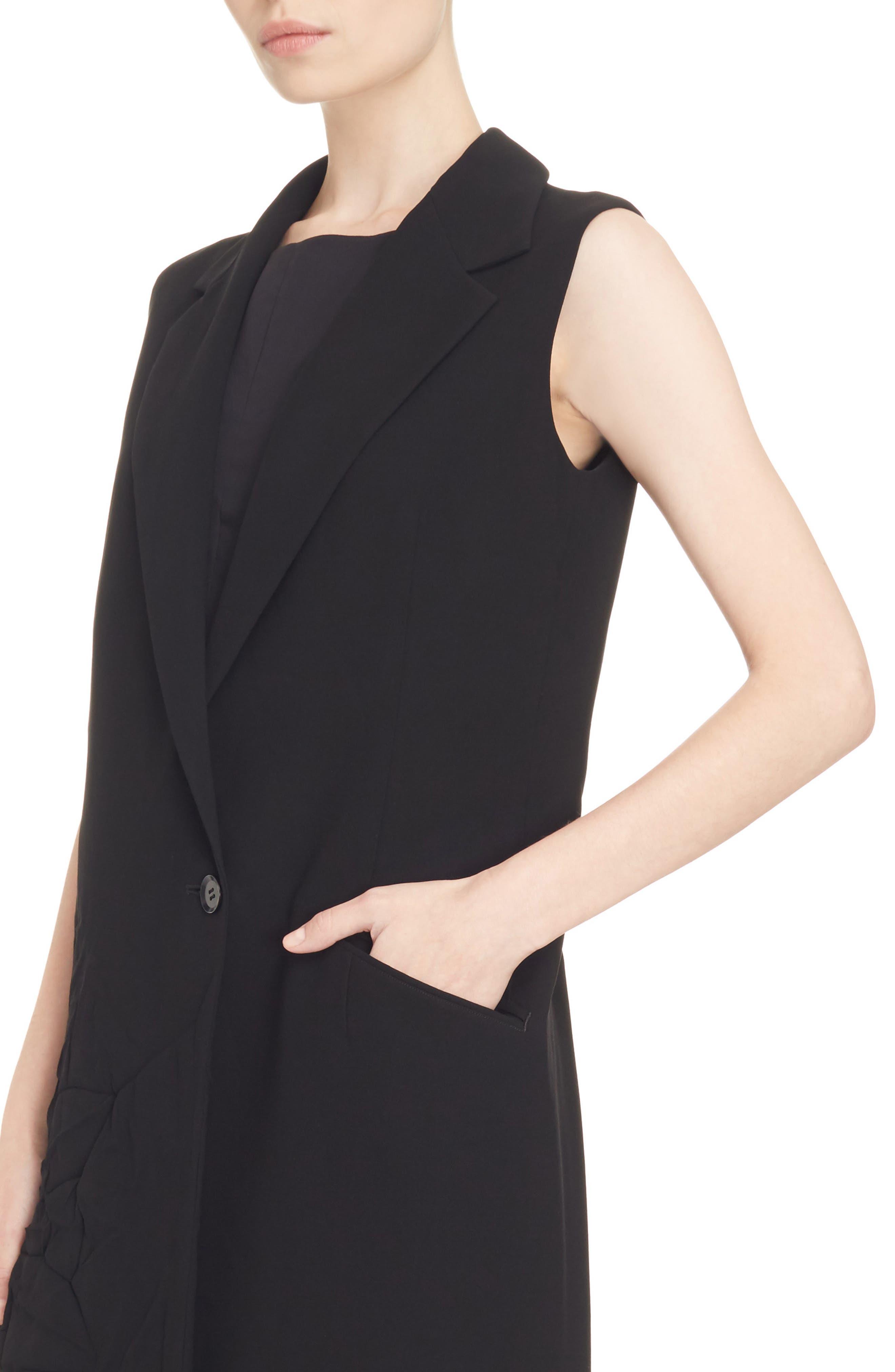 Alternate Image 4  - Y's by Yohji Yamamoto Asymmetrical Vest