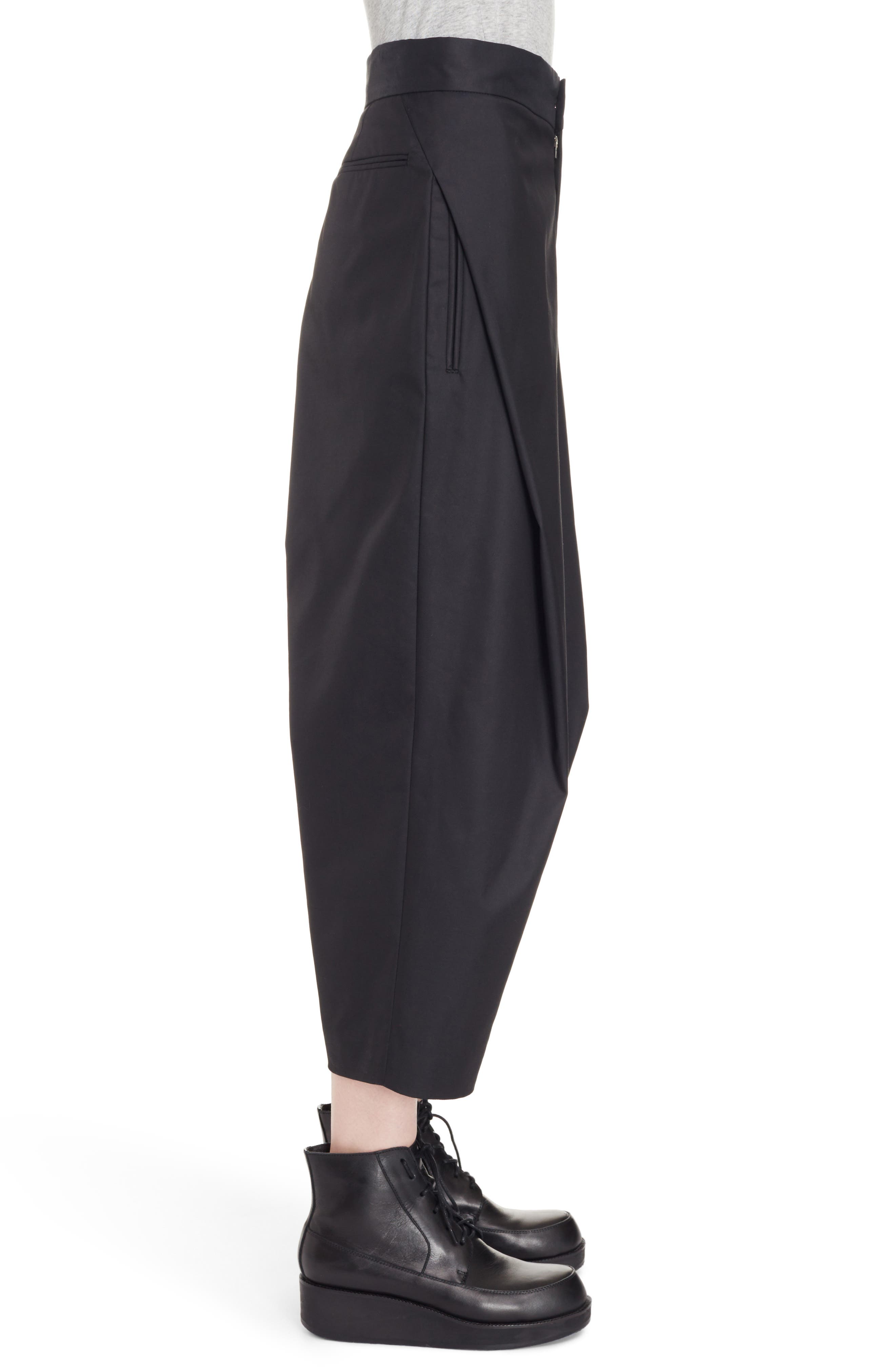 High Waist Pants,                             Alternate thumbnail 3, color,                             Black
