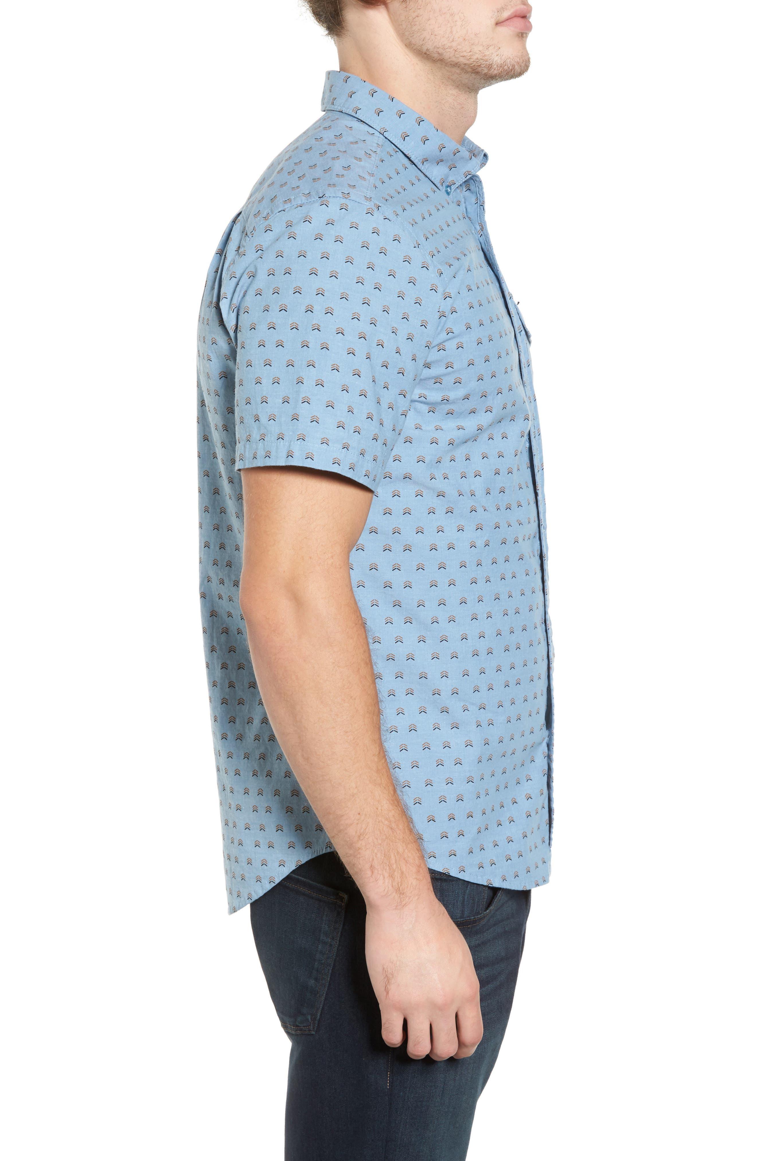 Alternate Image 3  - Hurley Brooks Woven Shirt