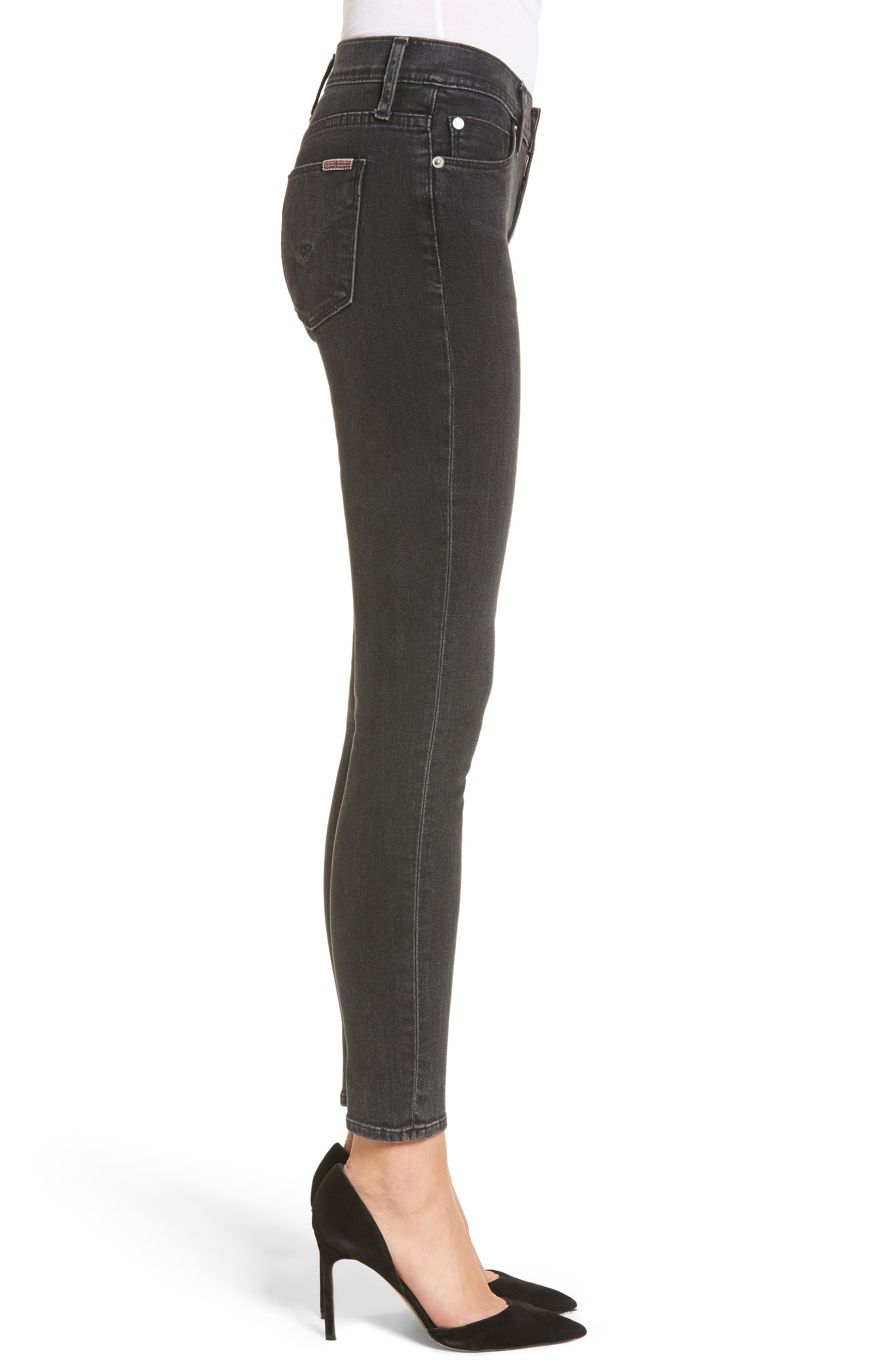 Nico Ankle Skinny Jeans,                             Alternate thumbnail 3, color,                             Omega