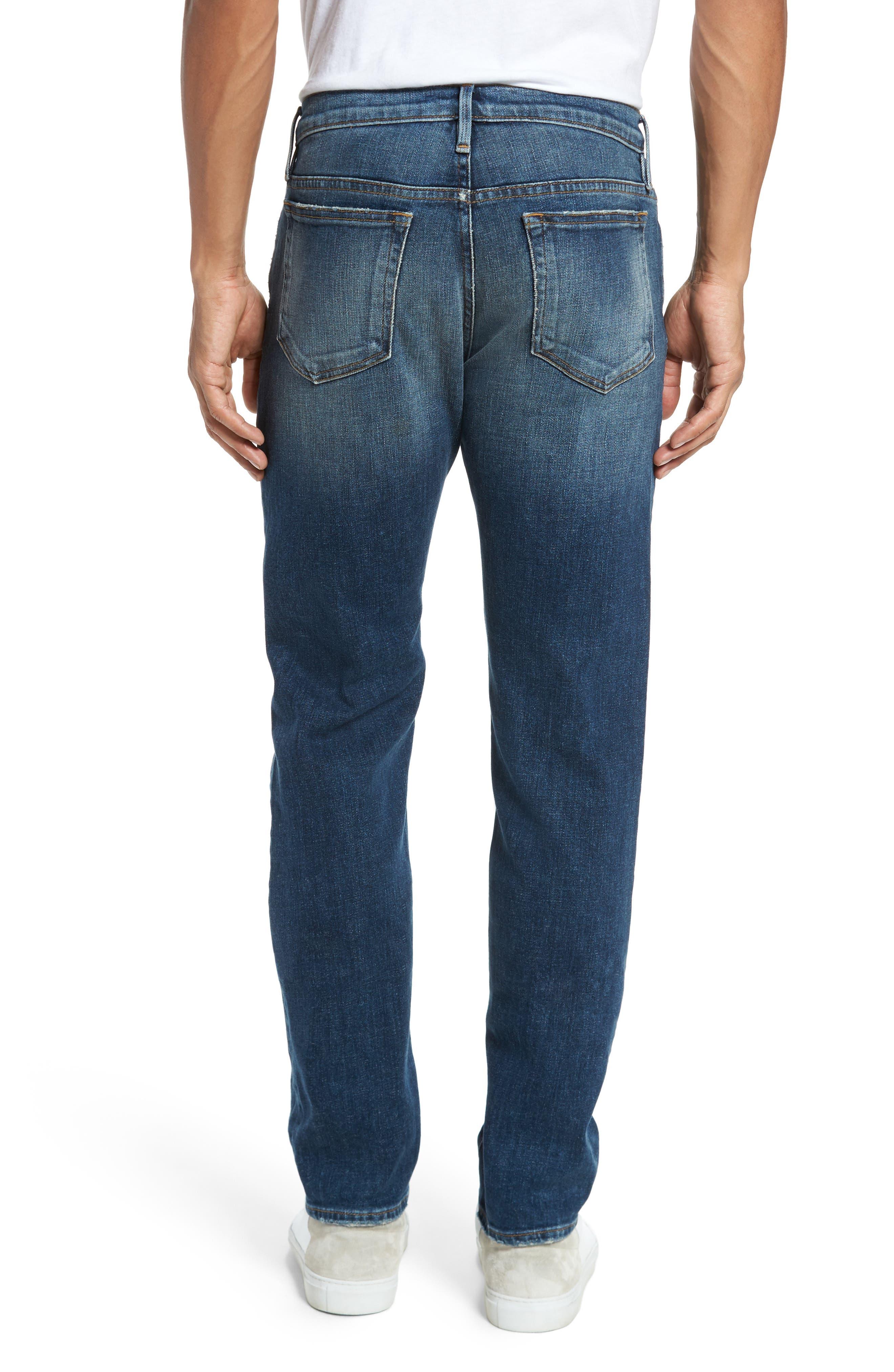 L'Homme Slim Fit Jeans,                             Alternate thumbnail 2, color,                             Salt Lake