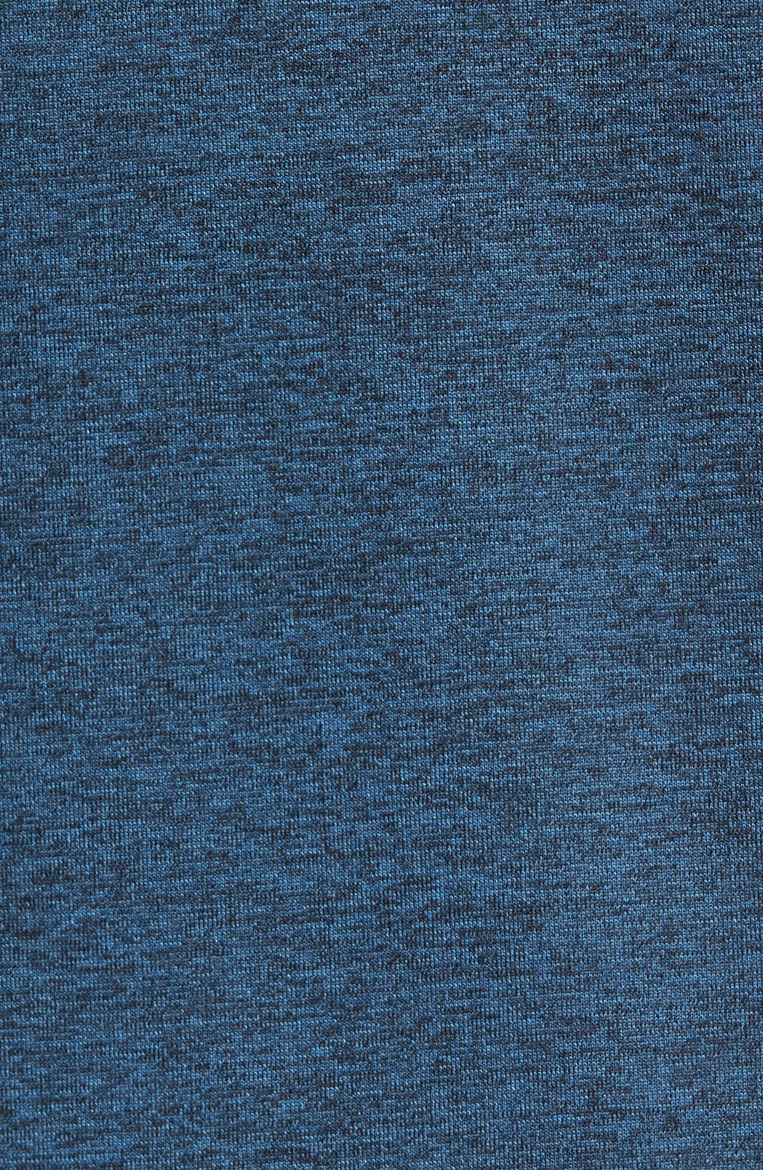 Lightweight Pullover Hoodie,                             Alternate thumbnail 5, color,                             Blue Chrome Melange