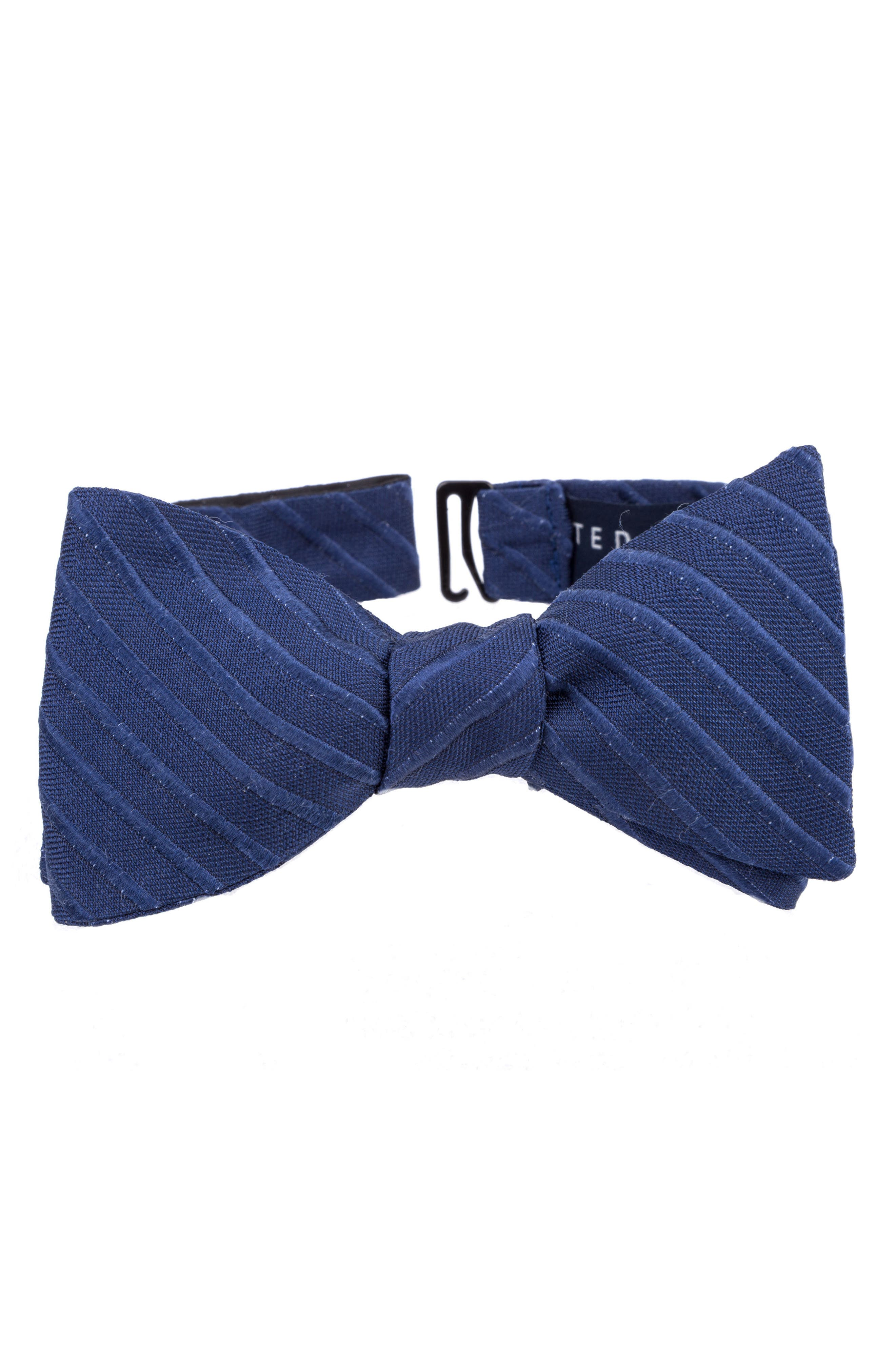 Alternate Image 1 Selected - Ted Baker London Indigo Wardrobe Silk Bow Tie