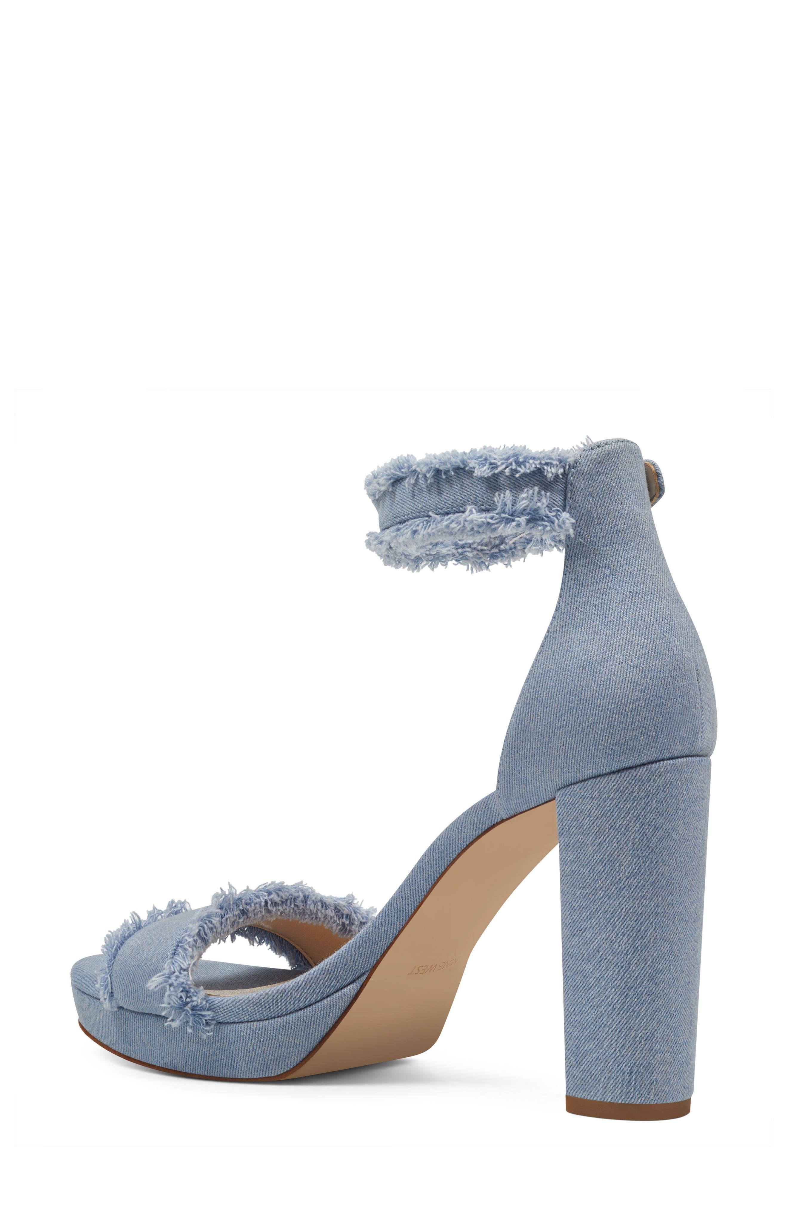 Alternate Image 2  - Nine West Daranita Ankle Strap Sandal (Women)