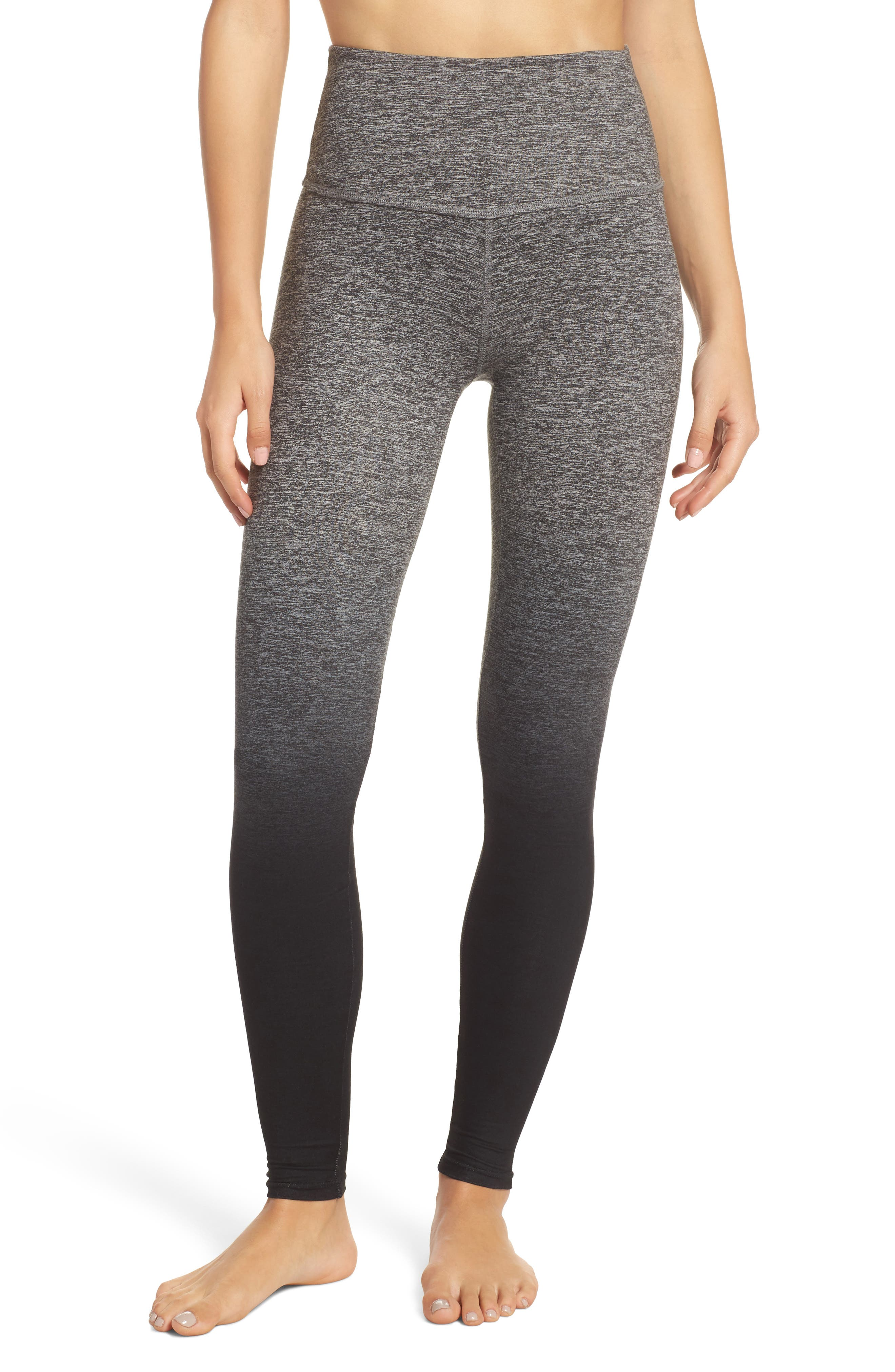 Main Image - Beyond Yoga Space Dye High Waist Leggings