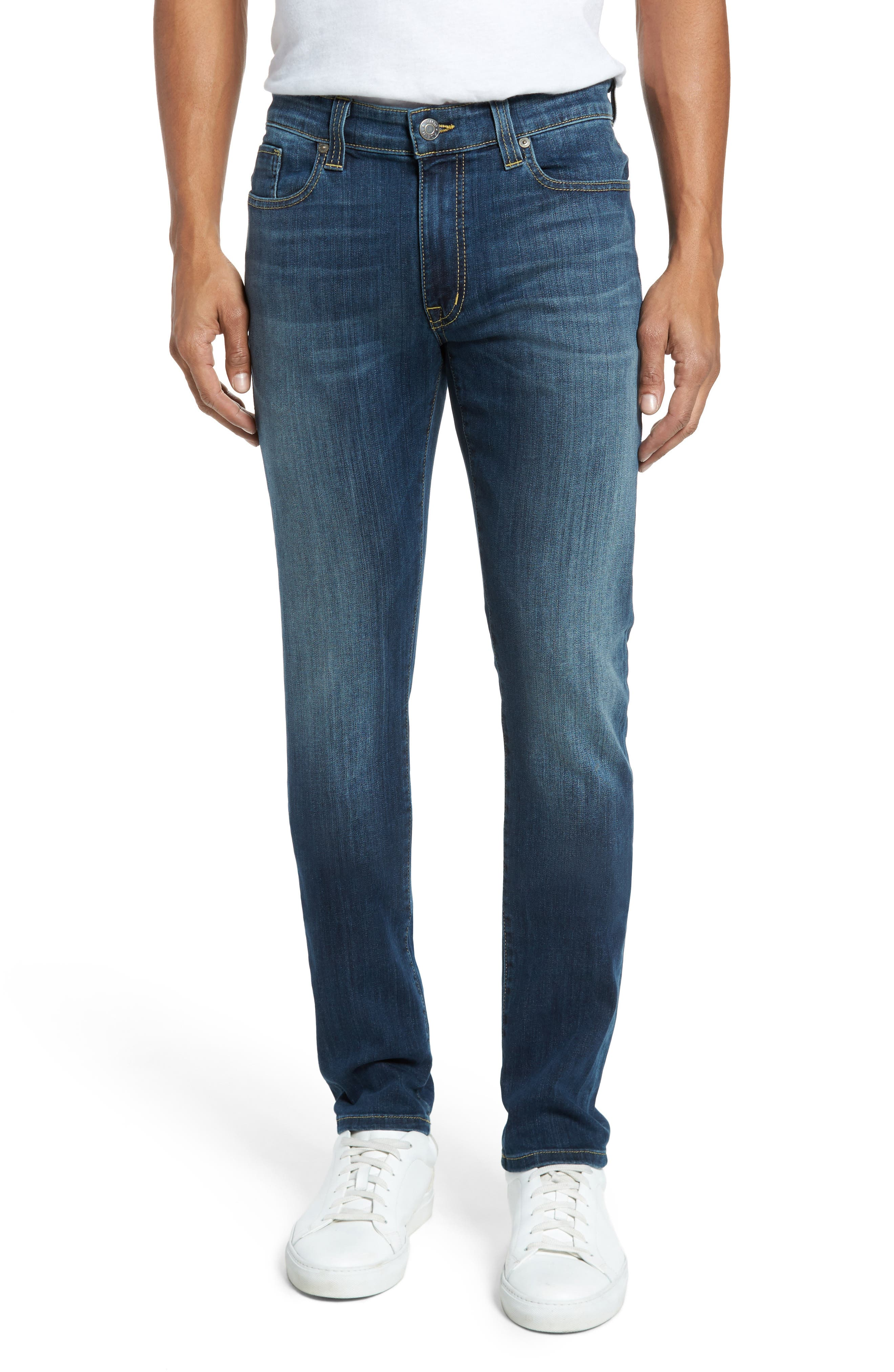 Alternate Image 1 Selected - Fidelity Denim Torino Slim Fit Jeans (Providence)