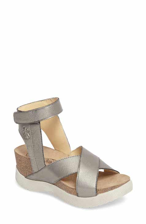 25d82c541a Fly London Weel Nubuck Leather Platform Sandal (Women)